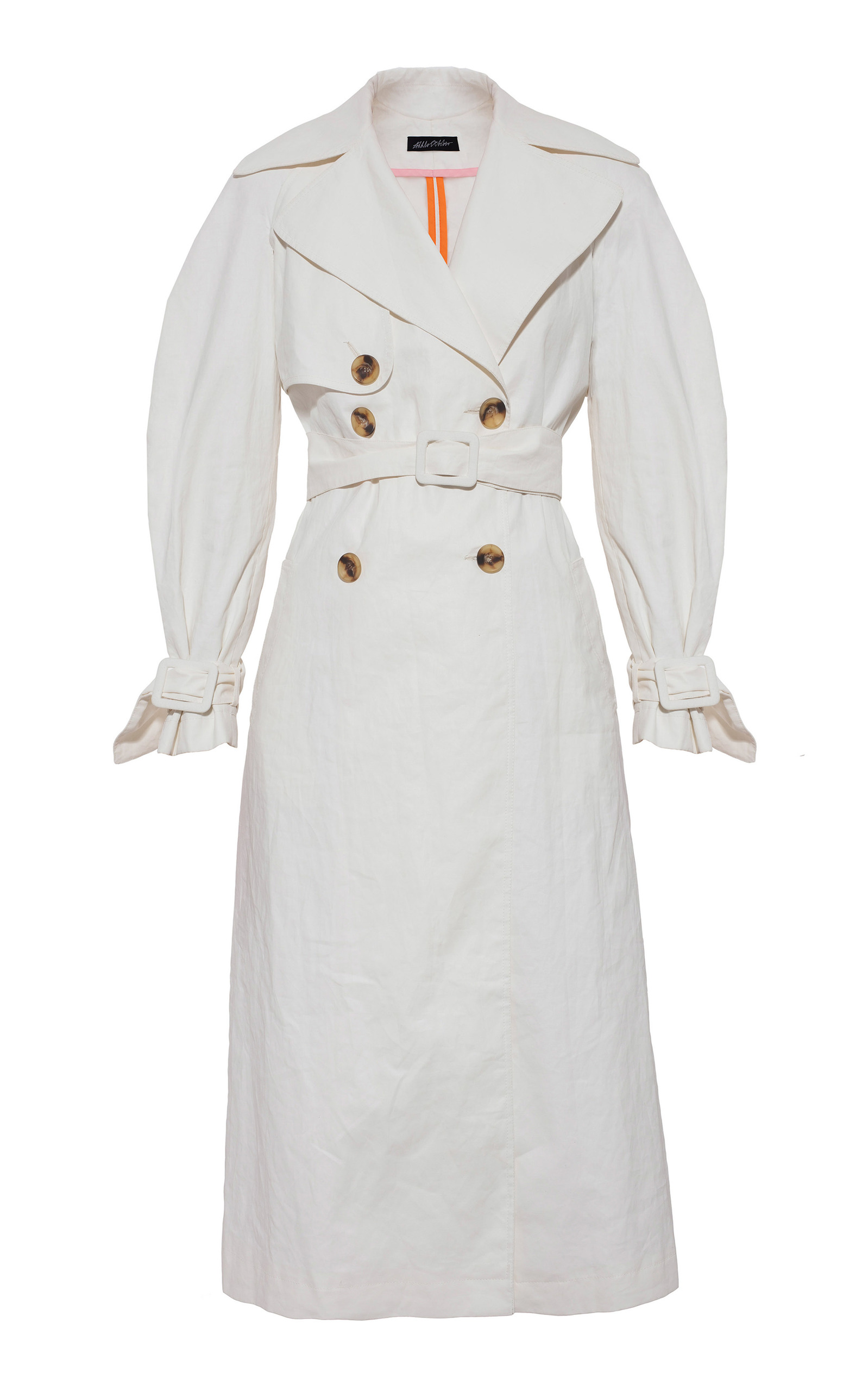 Anna October Knee Length Trench Coat