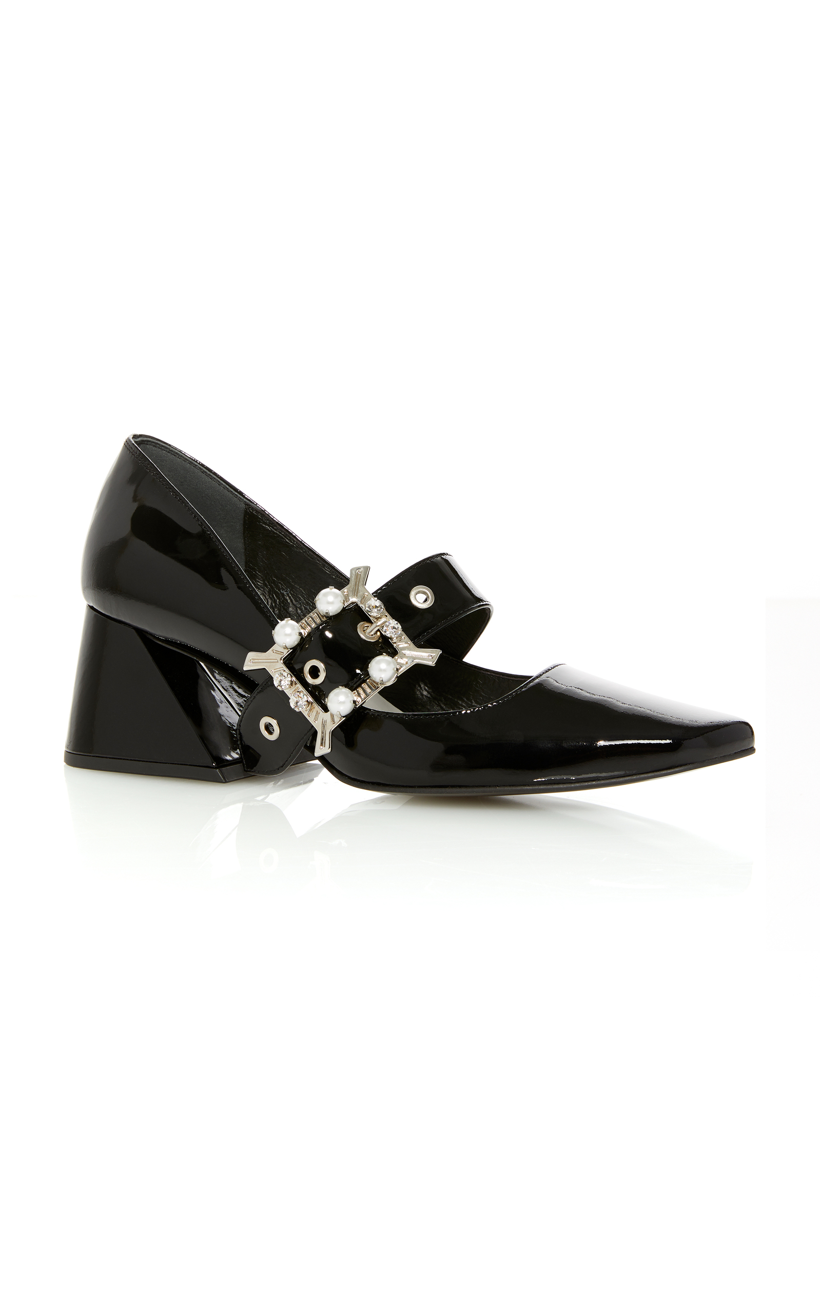 Patent Buckle Pump by Yuul Yie