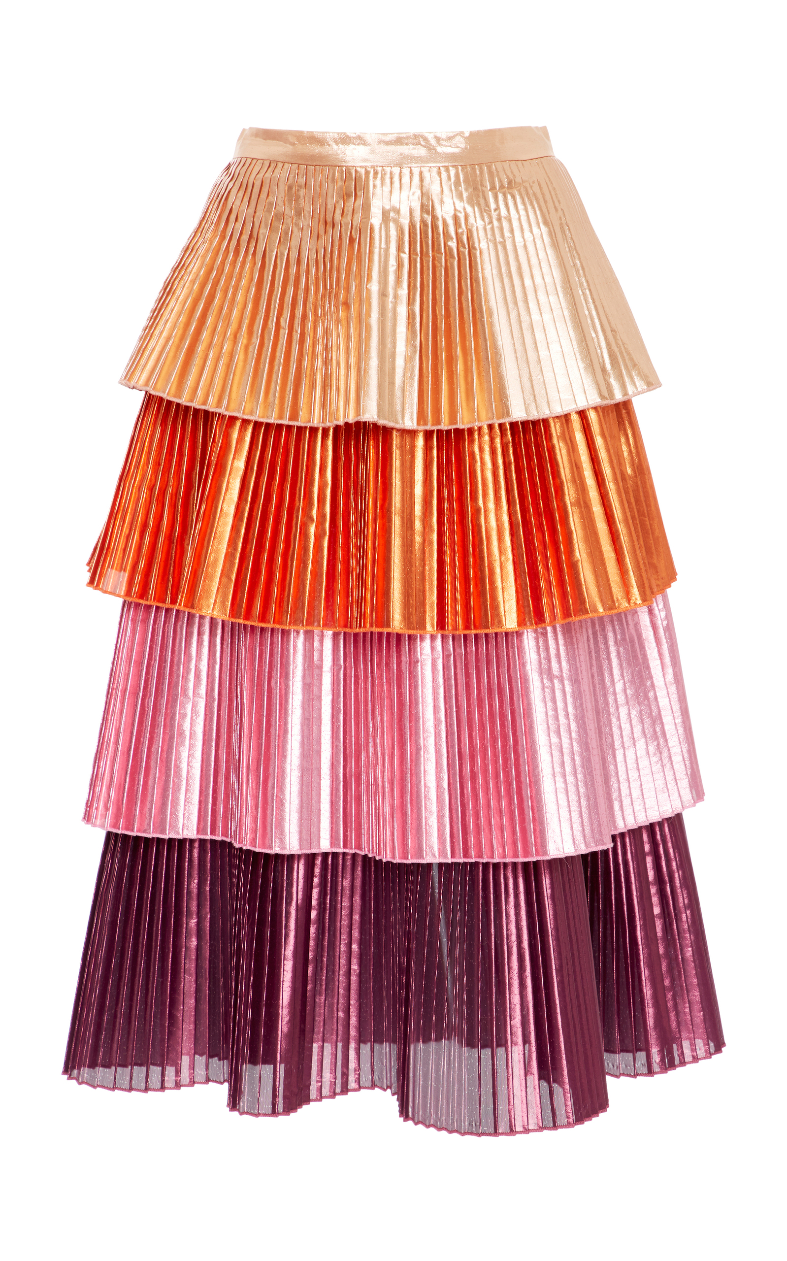 35259c93a Lauren Tiered Skirt by Delfi Collective | Moda Operandi