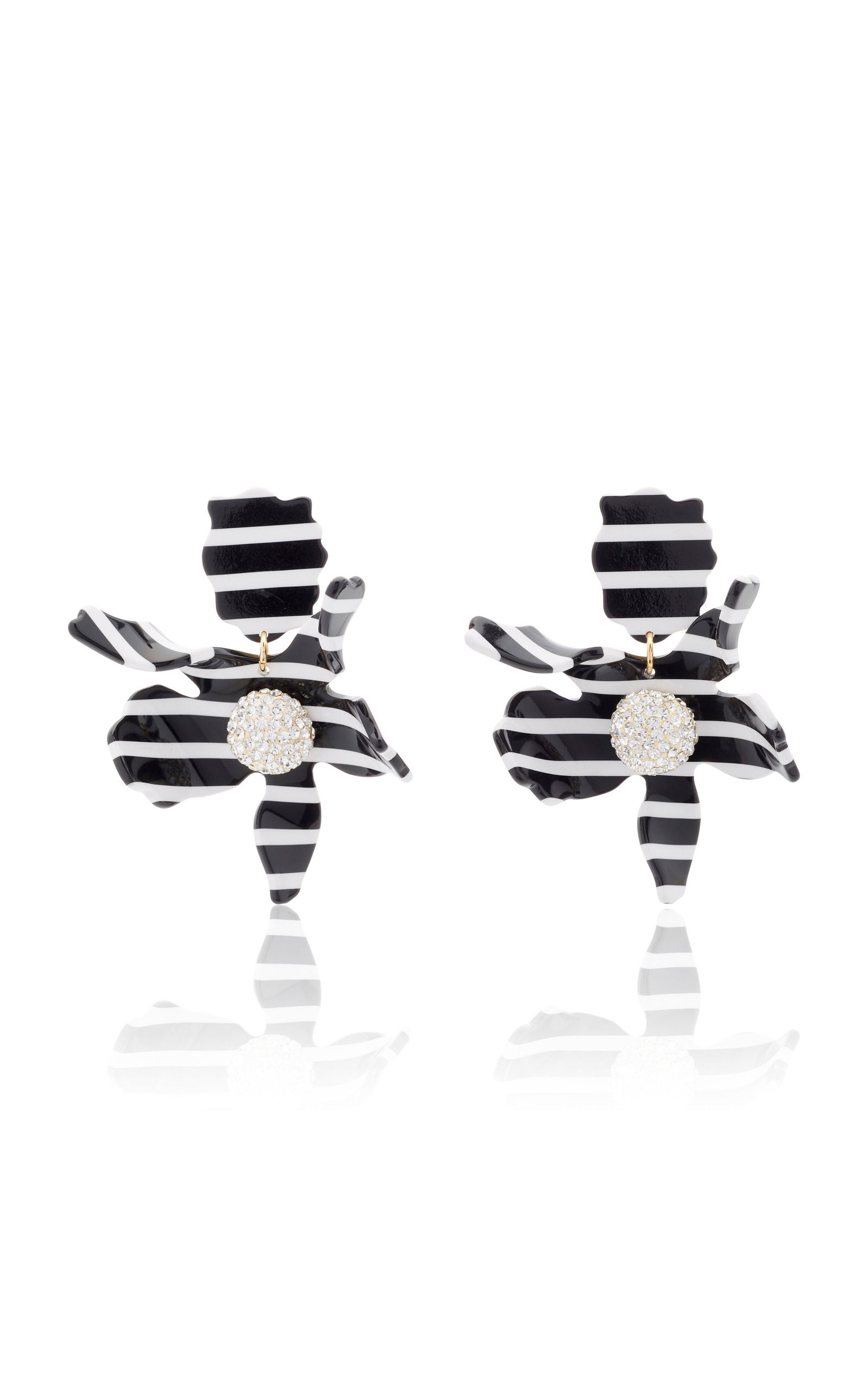 4a2856900 Crystal Lily Earrings by Lele Sadoughi | Moda Operandi