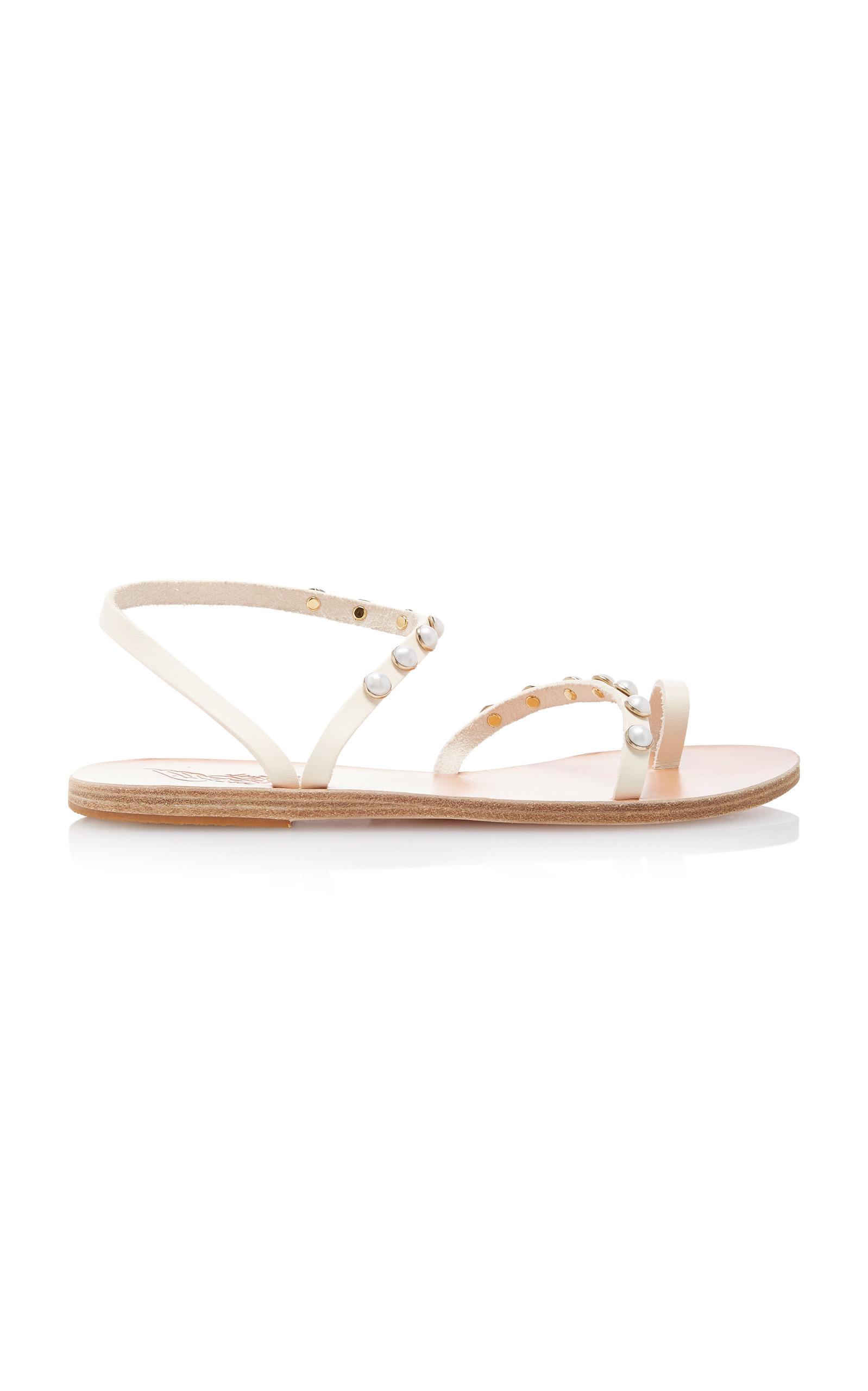 d2e18583e Ancient Greek SandalsApli Eleftheria Pearl Sandal. CLOSE. Loading. Loading.  Loading