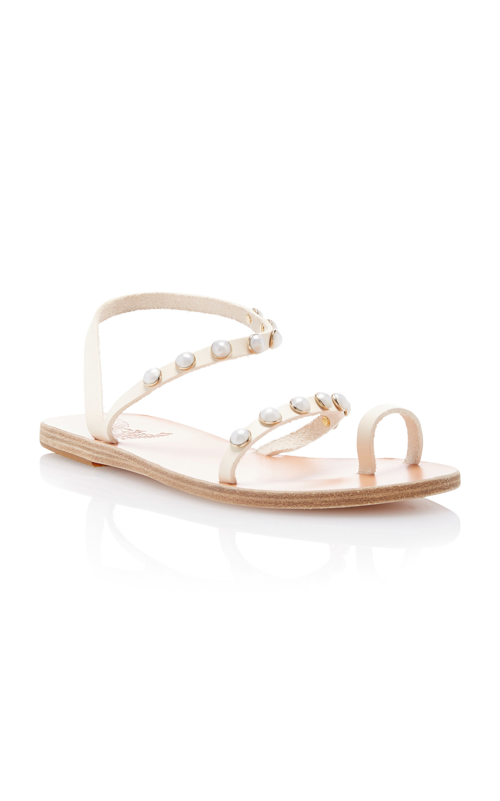 130089bab Ancient Greek SandalsApli Eleftheria Pearl Sandal. CLOSE. Loading