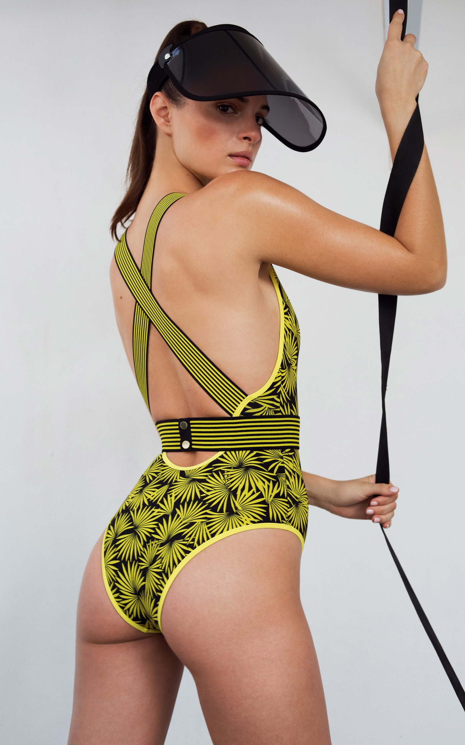 1388ddf1f52d Deep V Neck One Piece Swimsuit by Diane von Furstenberg | Moda Operandi