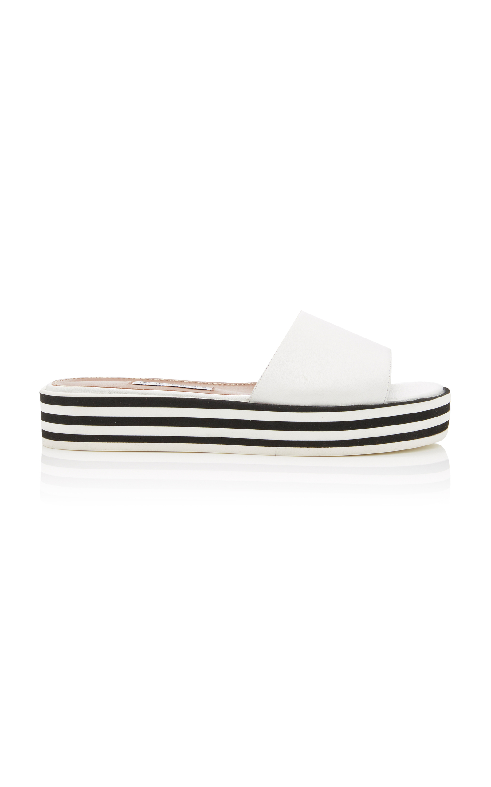 SOPHIA LEATHER SLIDES