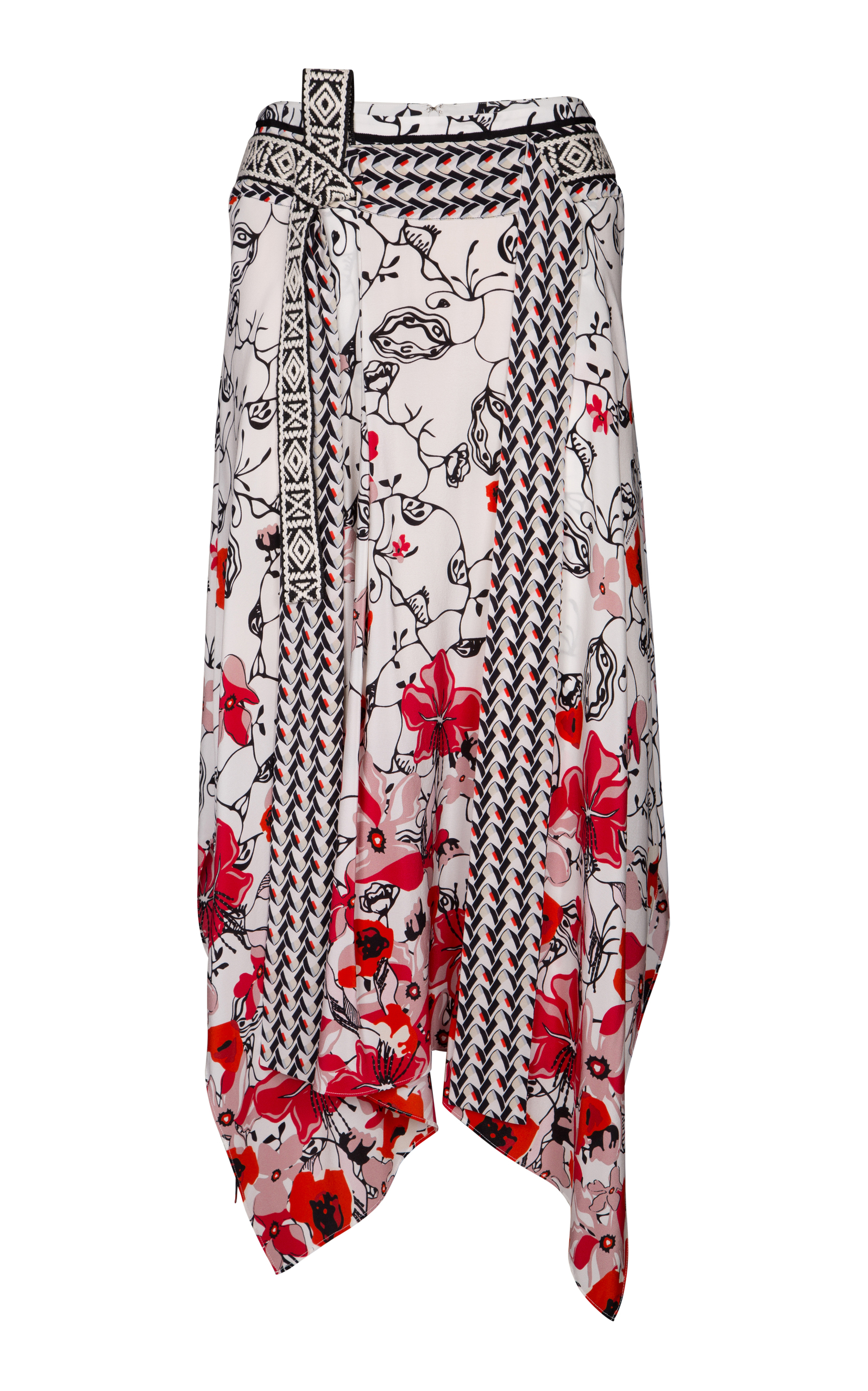 Dorothee Schumacher Moving Florals Skirt