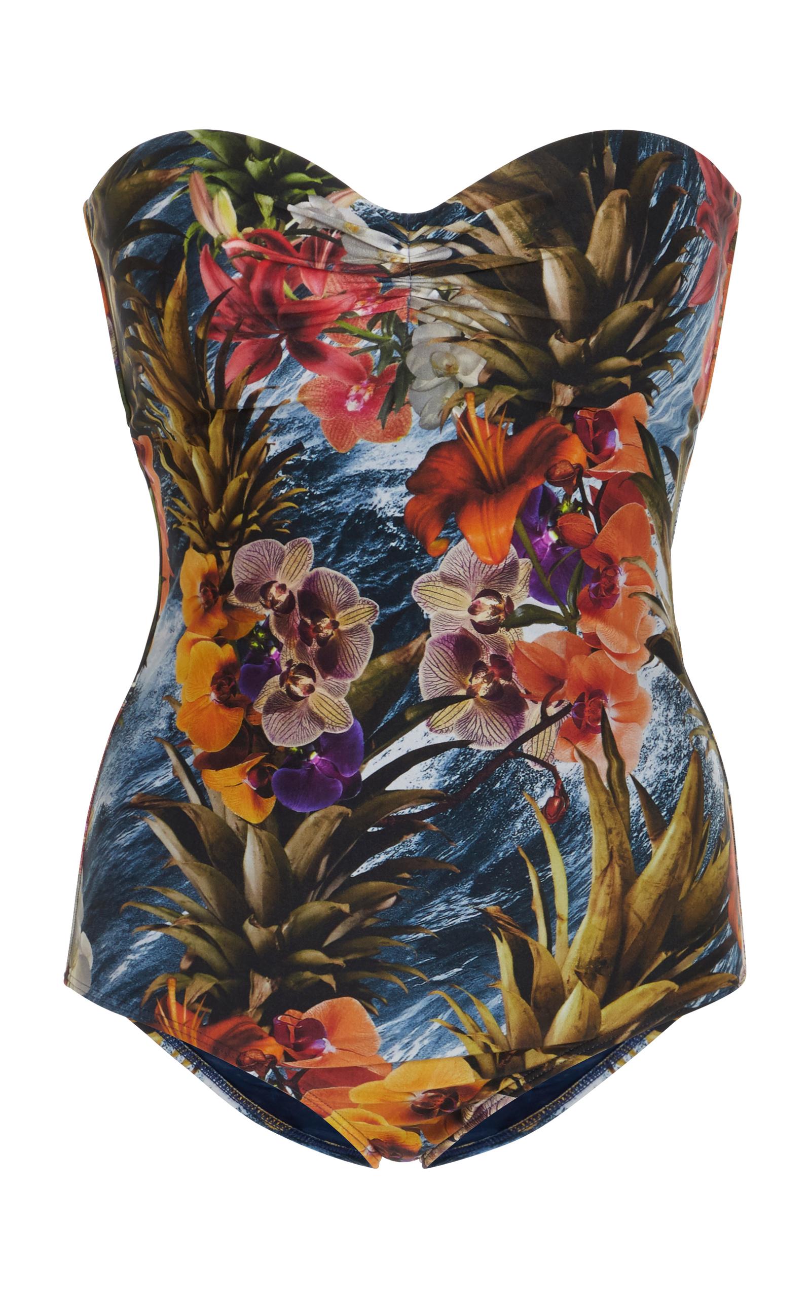 Jasmin Floral Long TunicÁgua de Coco heQ3nKymAH