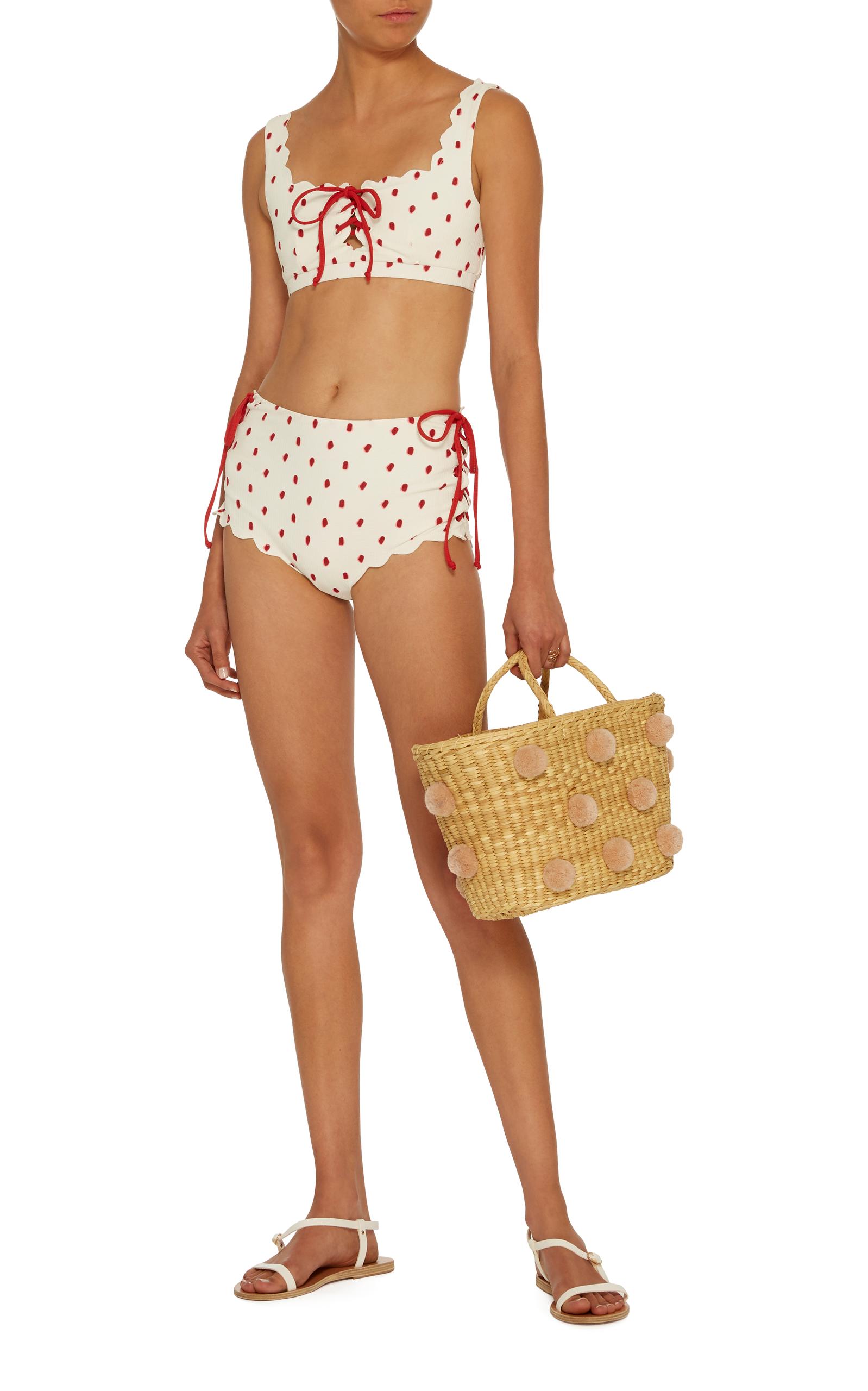 56d212b1295 Palm Springs Tie Bikini Top by Marysia Swim | Moda Operandi