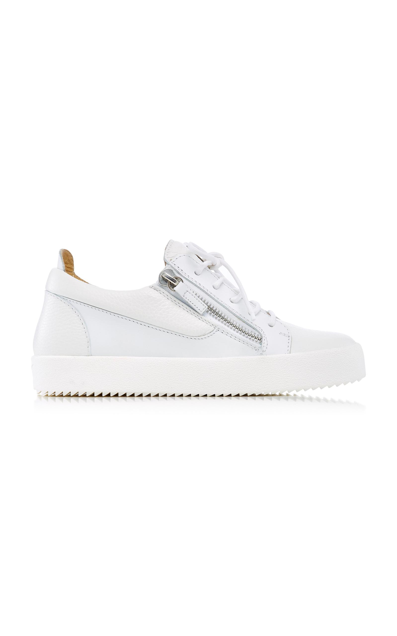 ffb0a4c2d094d May London Leather Sneakers by Giuseppe Zanotti | Moda Operandi