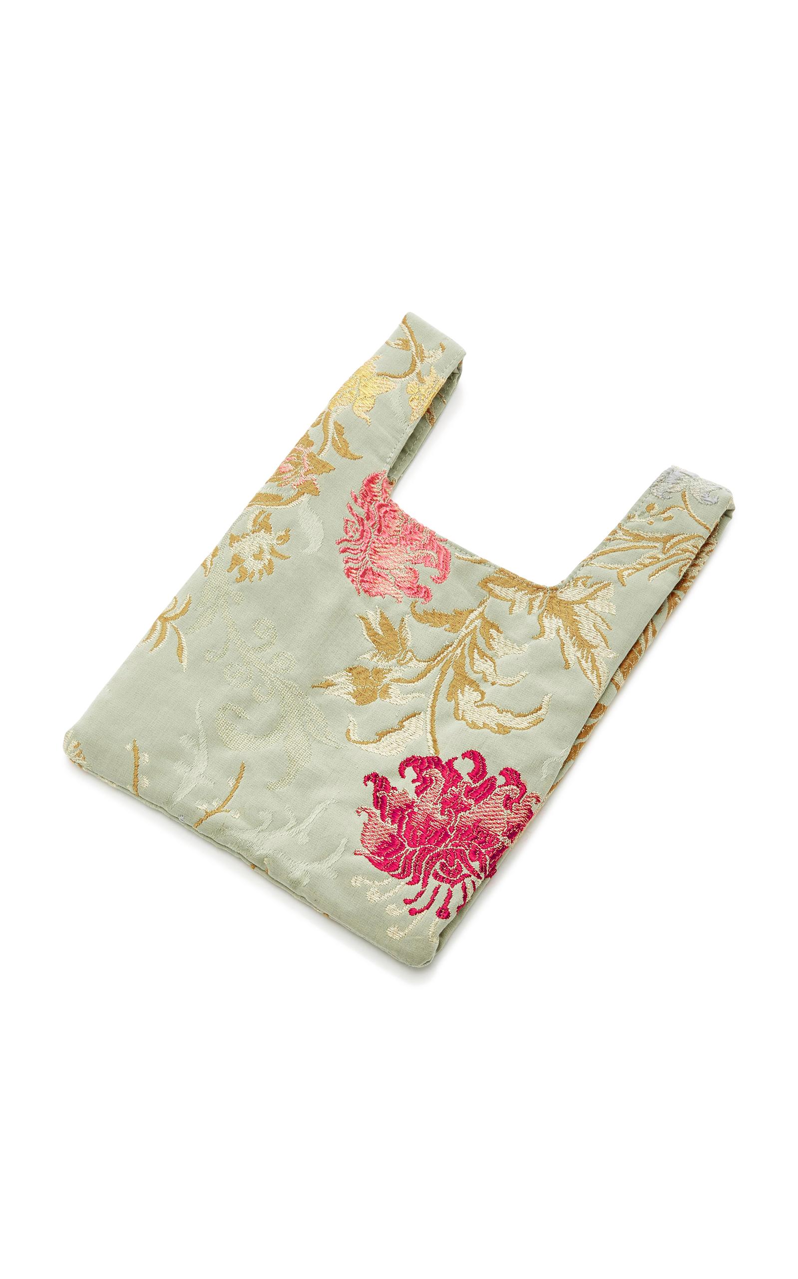 Mini Venetian Silk-Jacquard Shopper Tote Hayward vEQBoCv