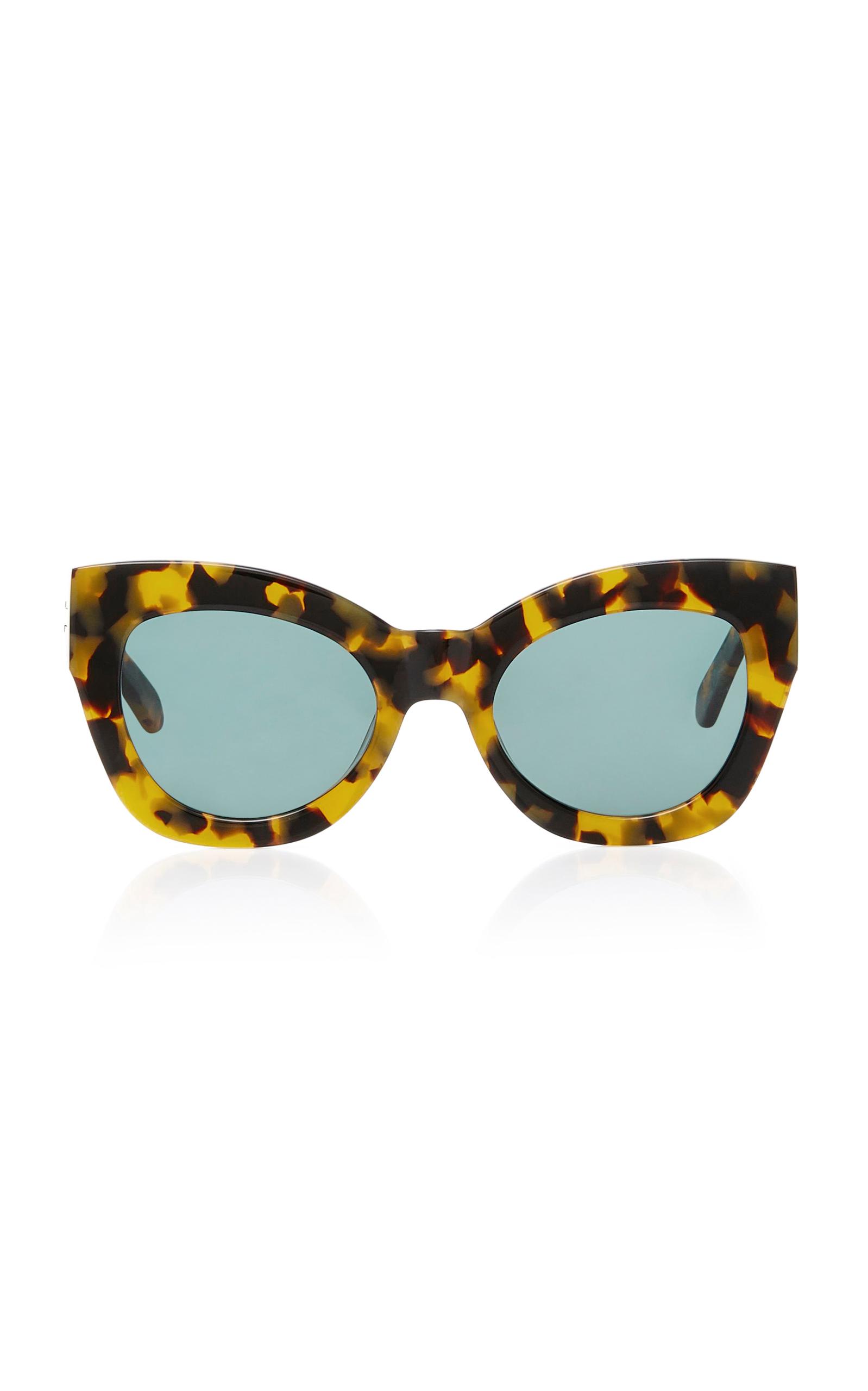 fcb76b2d630 Karen WalkerNorthern Lights Tortoiseshell Acetate Cat-Eye Sunglasses. CLOSE.  Loading