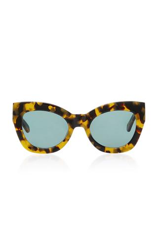 74372370ea7 Northern Lights Tortoiseshell Acetate Cat-Eye Sunglasses by Karen Walker |  Moda Operandi