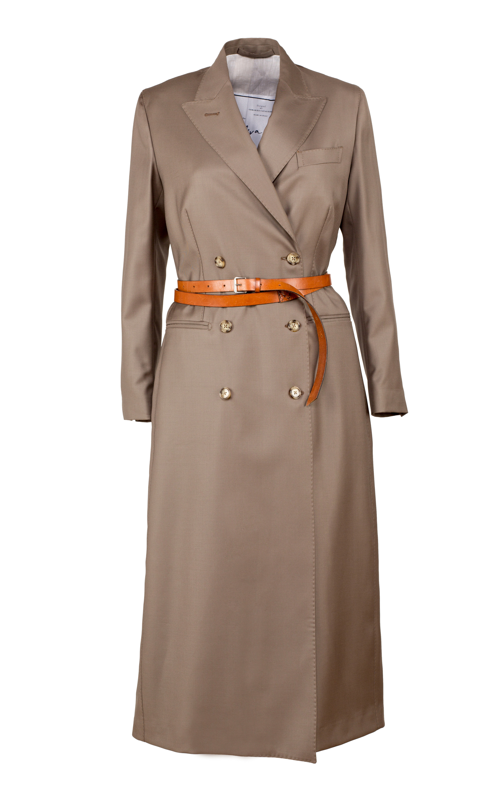 Double Breasted Wool Dress Coat Giuliva Heritage Collection Discount 100% Authentic FILsFXe