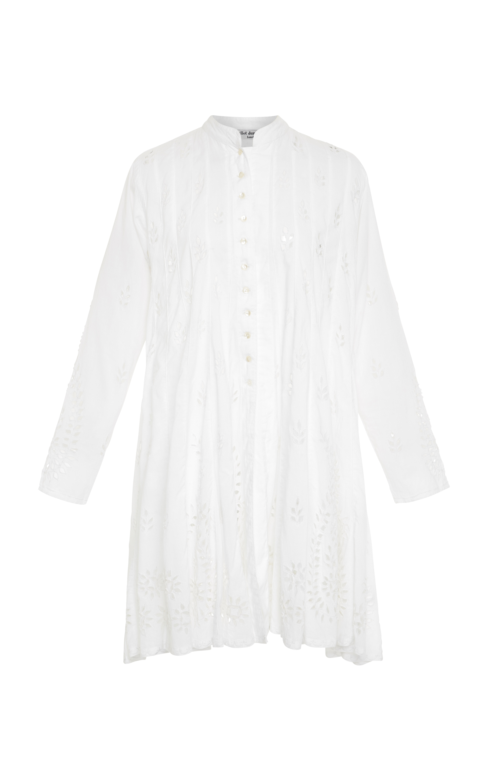 Juliet Dunn EYELET COTTON DRESS