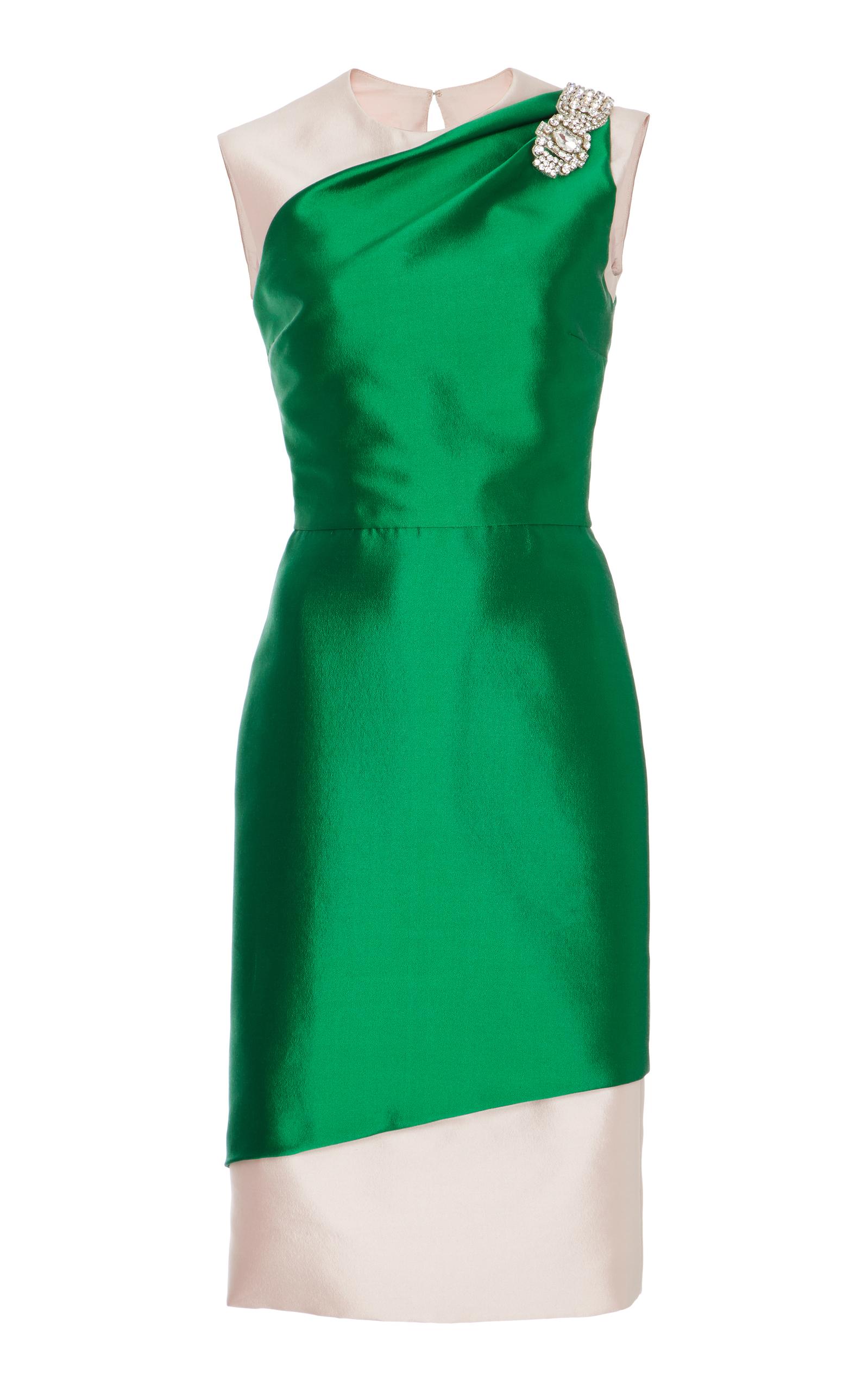 Sleeveless Cocktail Dress by Reem Acra   Moda Operandi