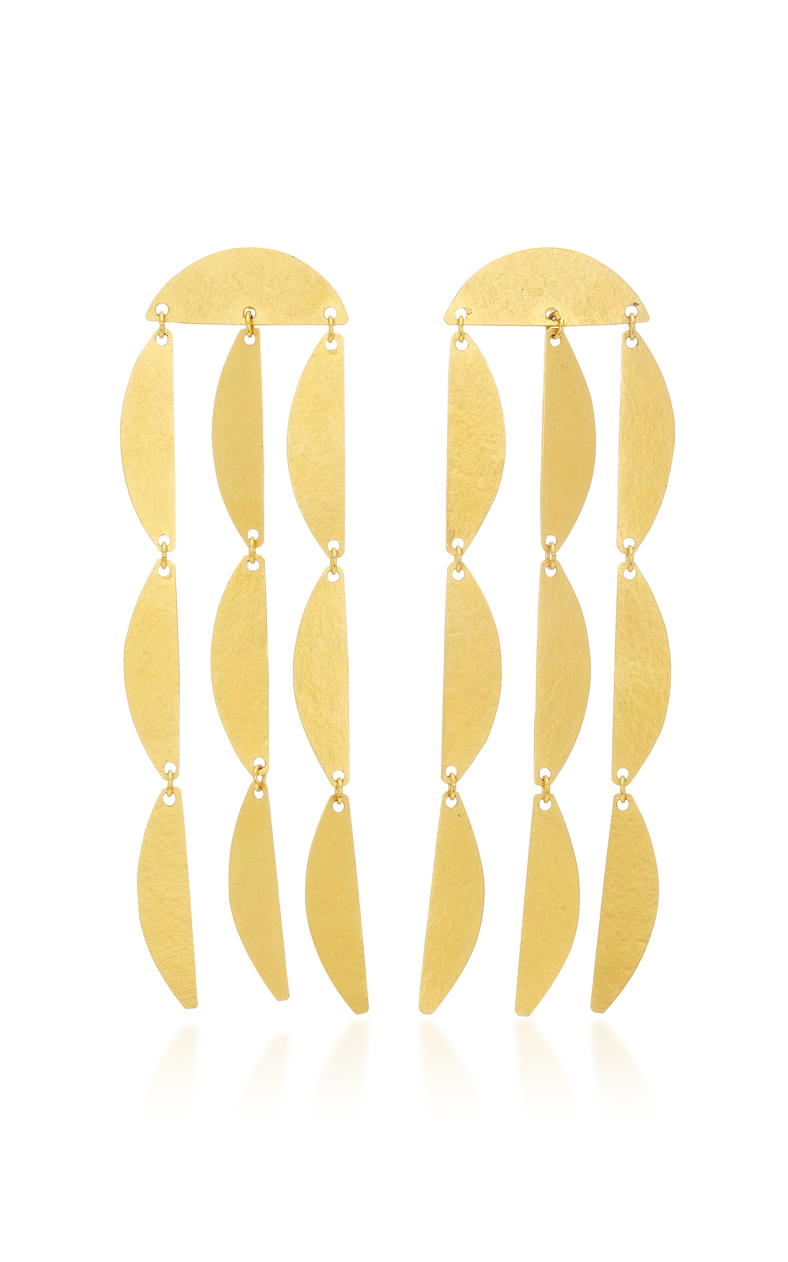 Mini Rain Earrings Annie Costello Brown 1UiBDzr