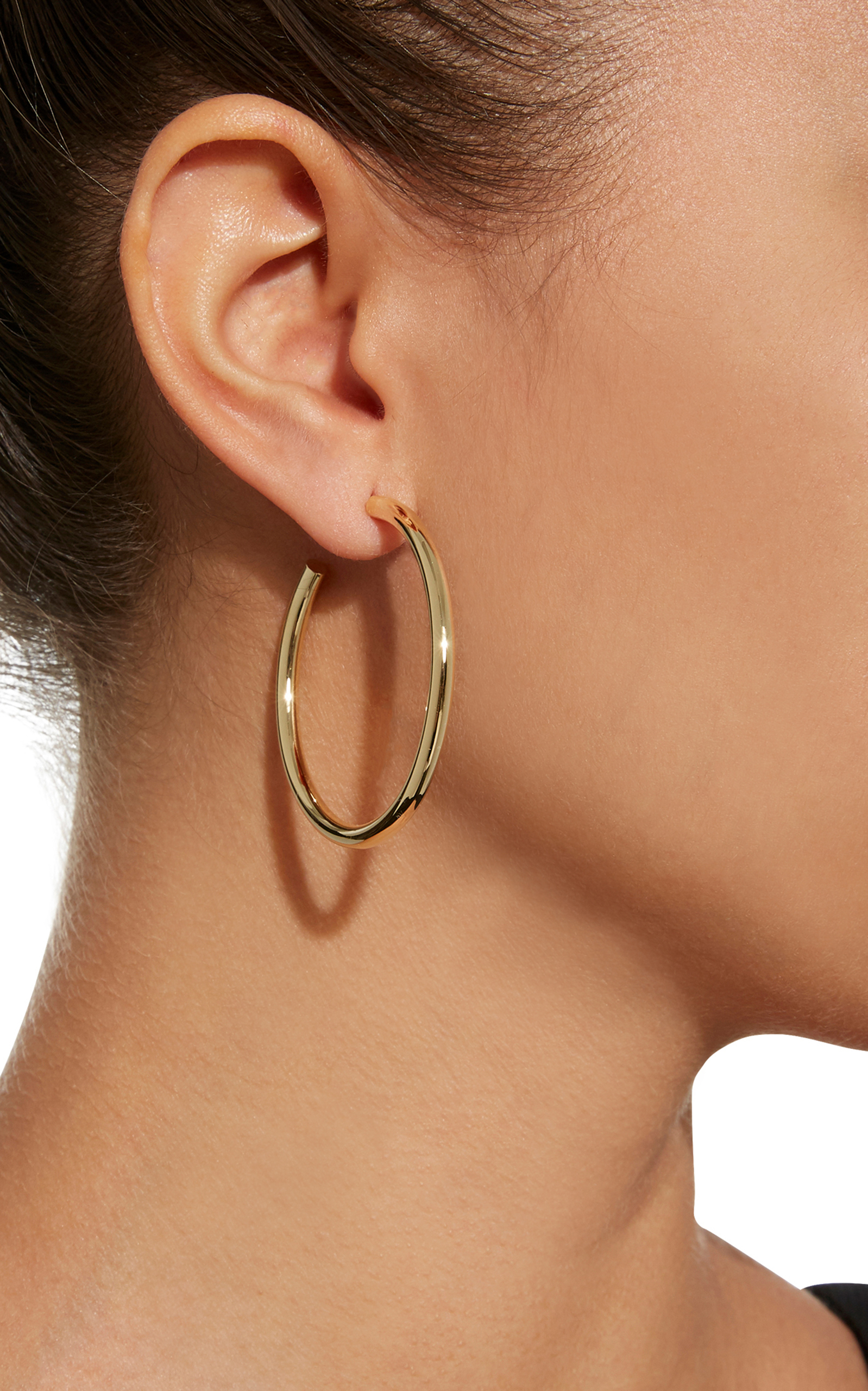 Jennifer Fisher Lilly Gold-plated Hoop Earrings pZ8lXdA