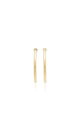 jennifer plated samira gold fisher earrings hoop