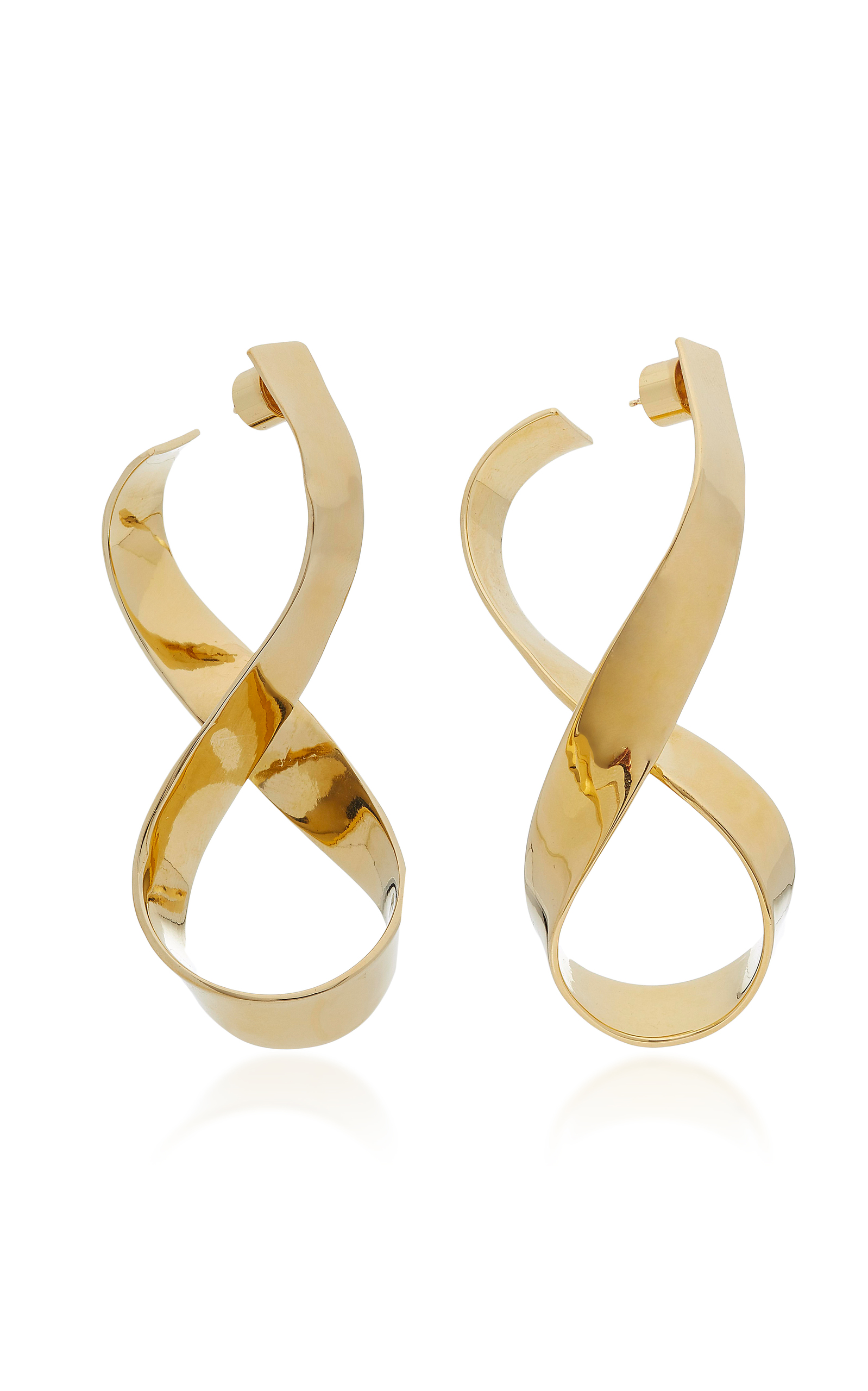 long image goldplated haven from swarovski earrings plated gold