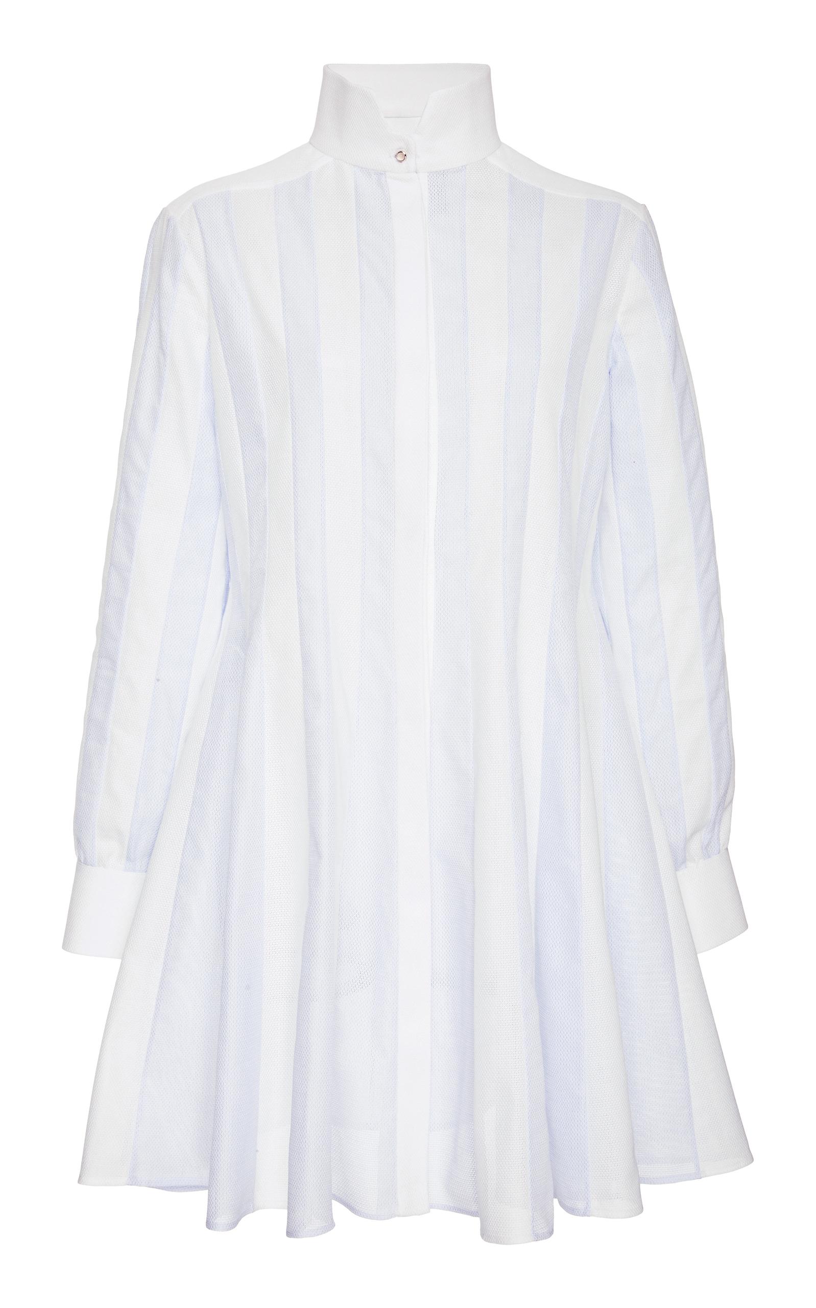 ESME VIE M'O EXCLUSIVE SANTORINI STRIPED DRESS