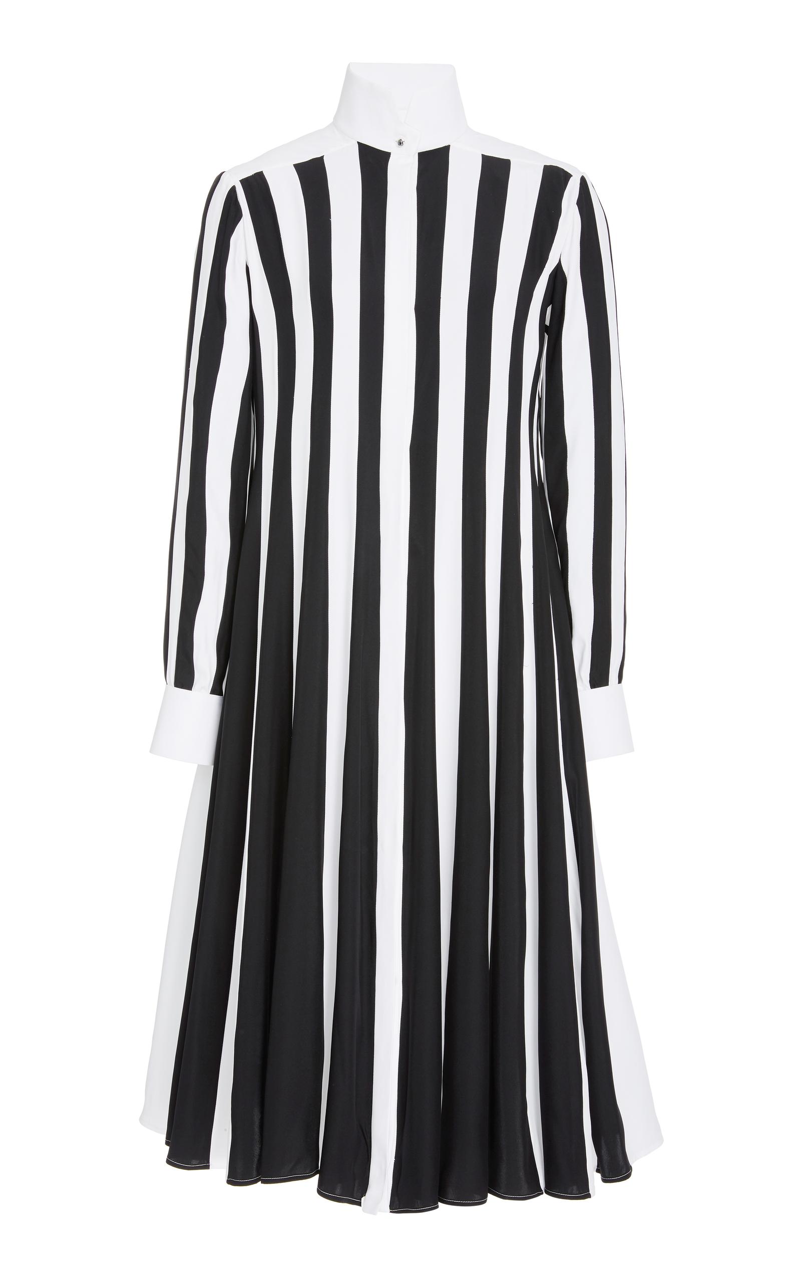 ESME VIE M'O Exclusive Monte Carlo Striped Dress