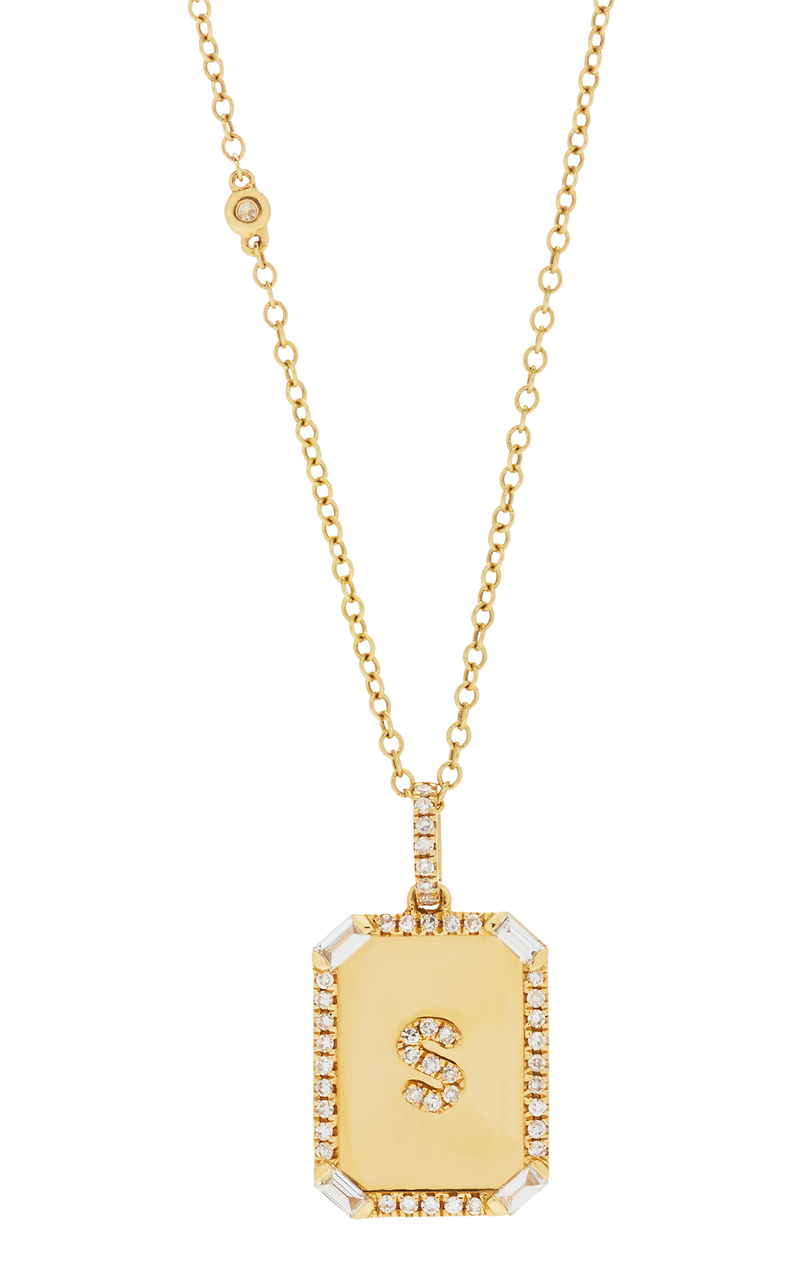 deco jewelry roberto gold classic normal lyst necklace coin gallery diamond product white pendant baguette