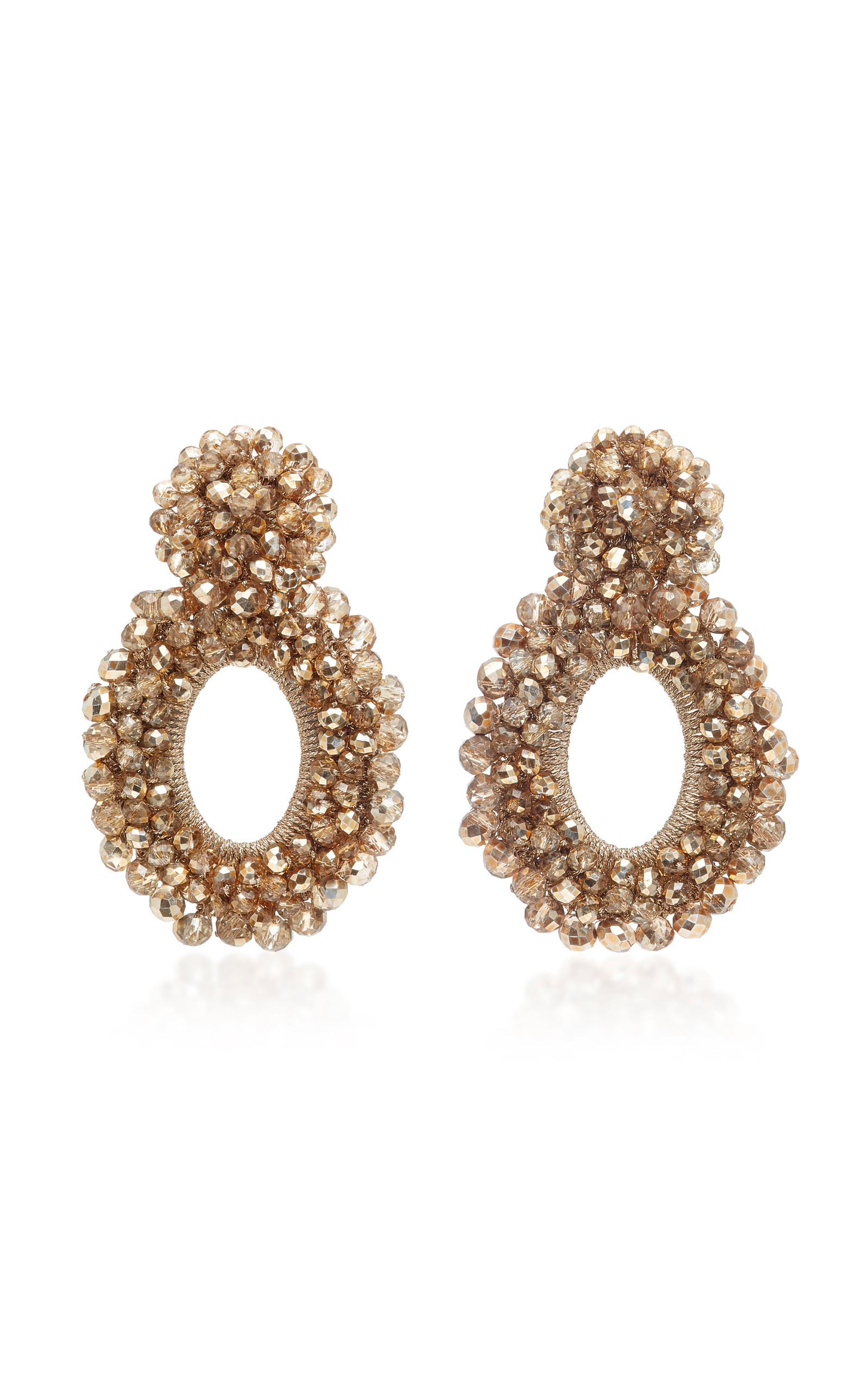 Golden Chamber Primrose Earrings Bibi Marini 7SVzHr