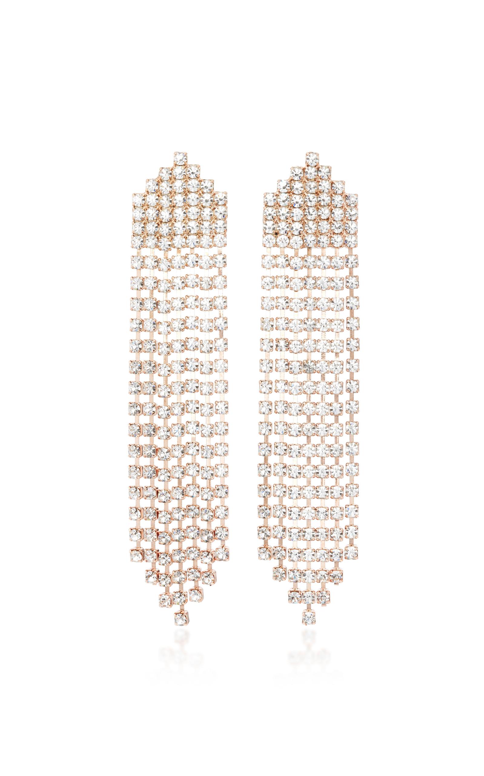 e9f1162e7 Jennifer BehrDiamante Rose Gold-Plated Tassel Earrings. CLOSE. Loading