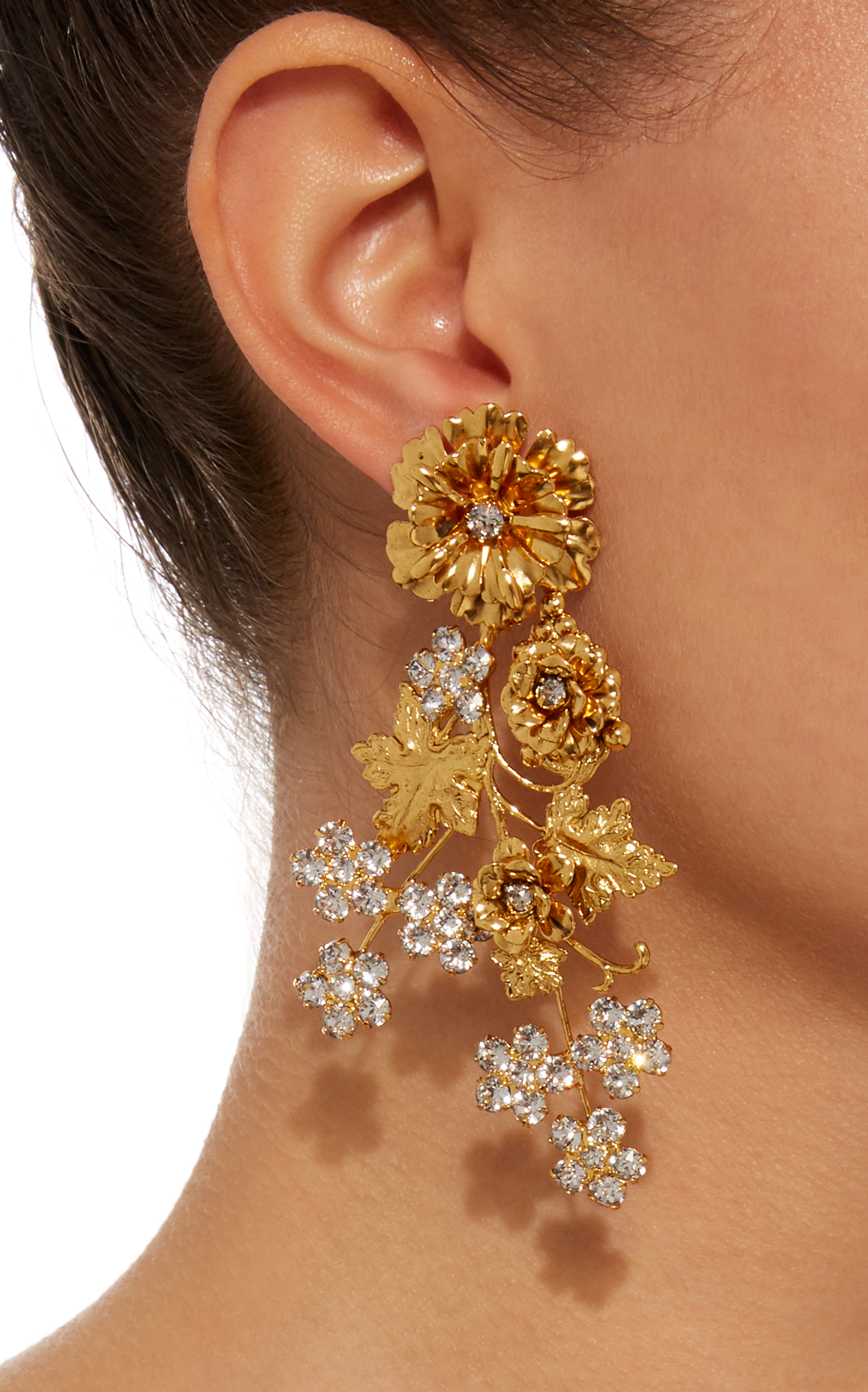 Gold-tone Earrings - one size Jennifer Behr