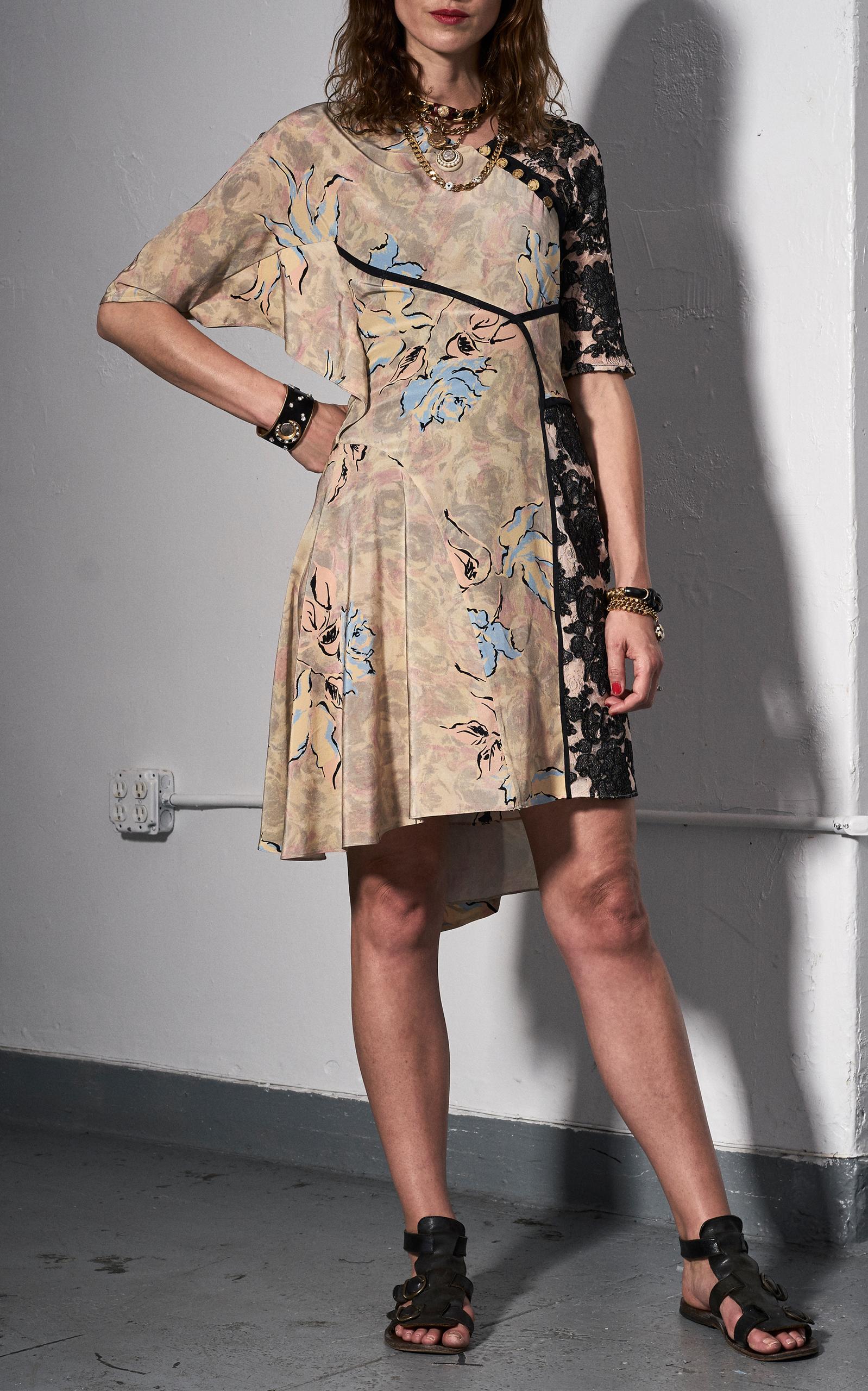 MAISON MAYLE Floral Leandra Dress