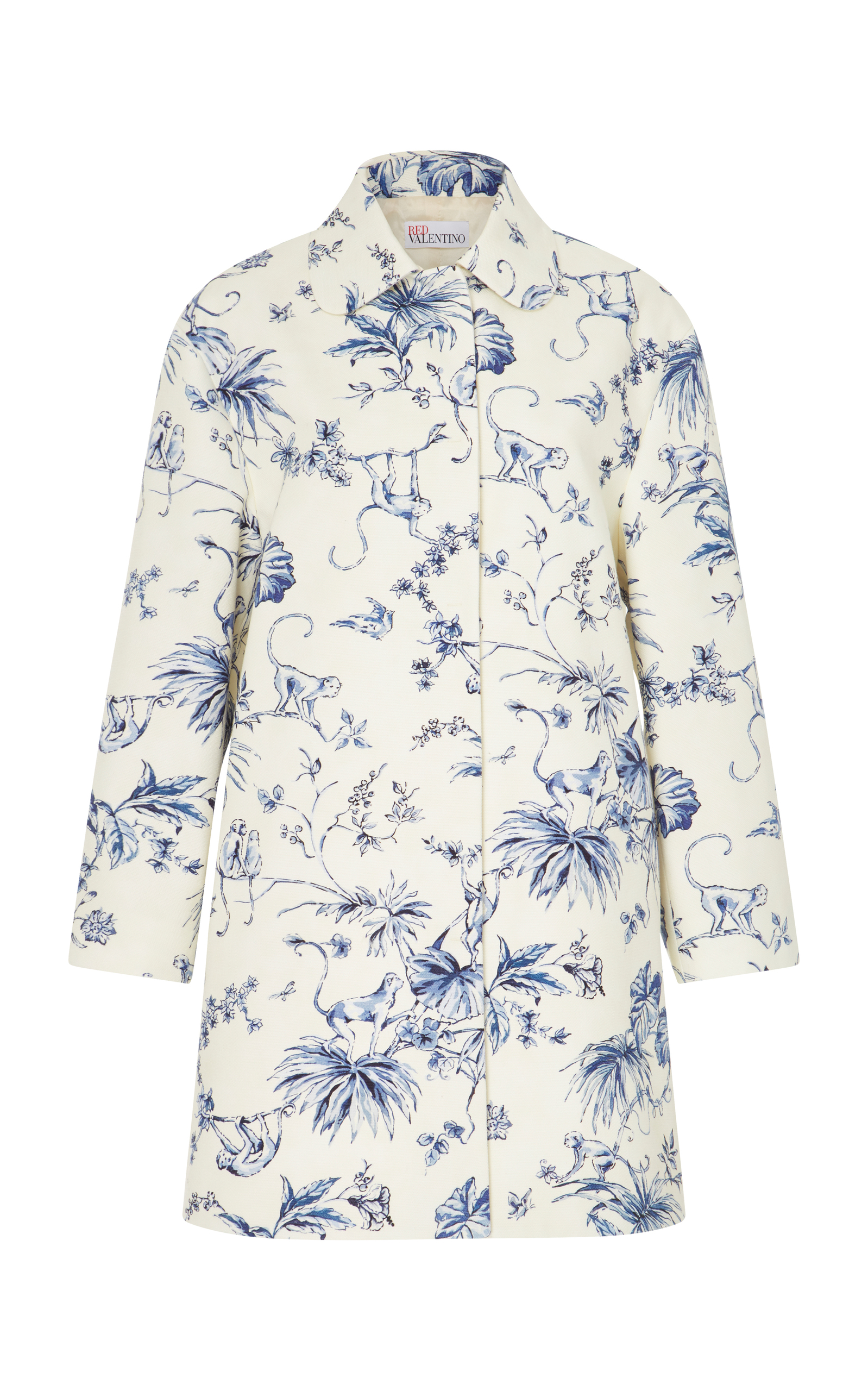 Cheap Sale Great Deals Red Valentino Monkey print blouse Cheap Sale Purchase Amazon Footaction Discount Very Cheap Many Styles tpDKTzICCy