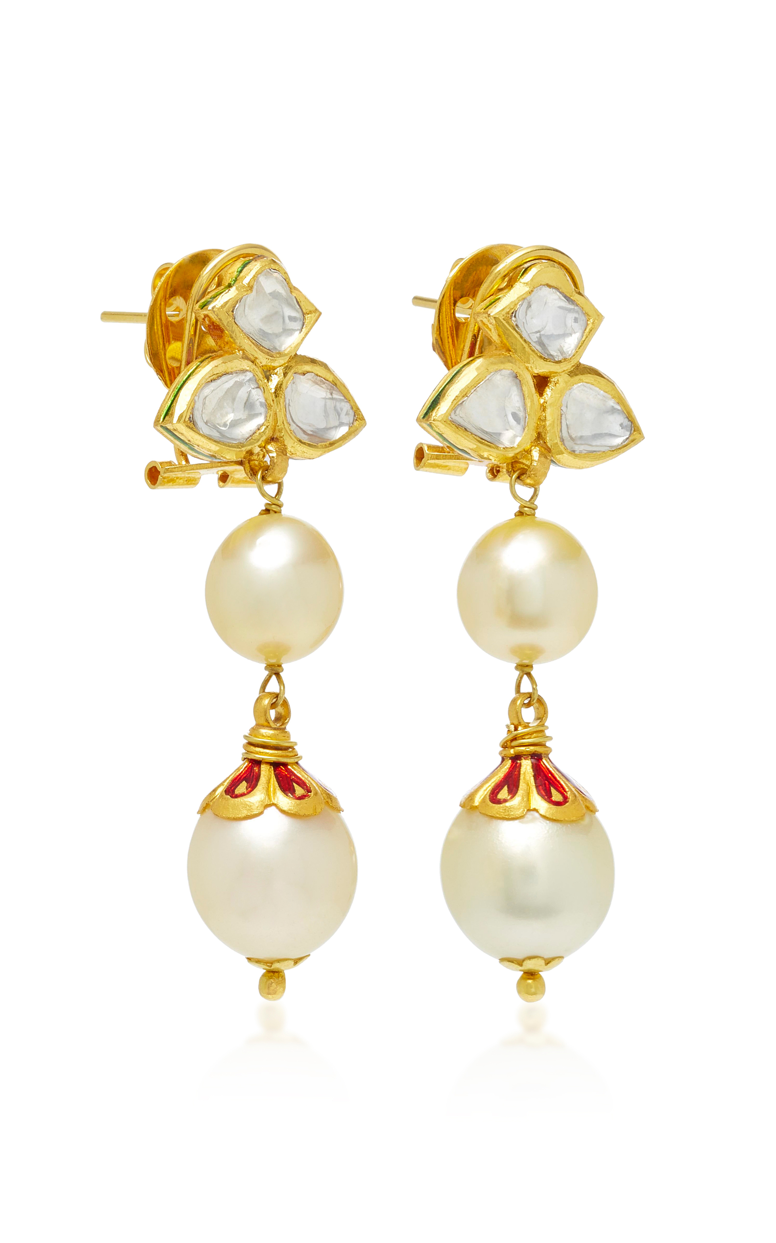 pugliese earrings tangier designers august earring shop gold rosanne side jewelery