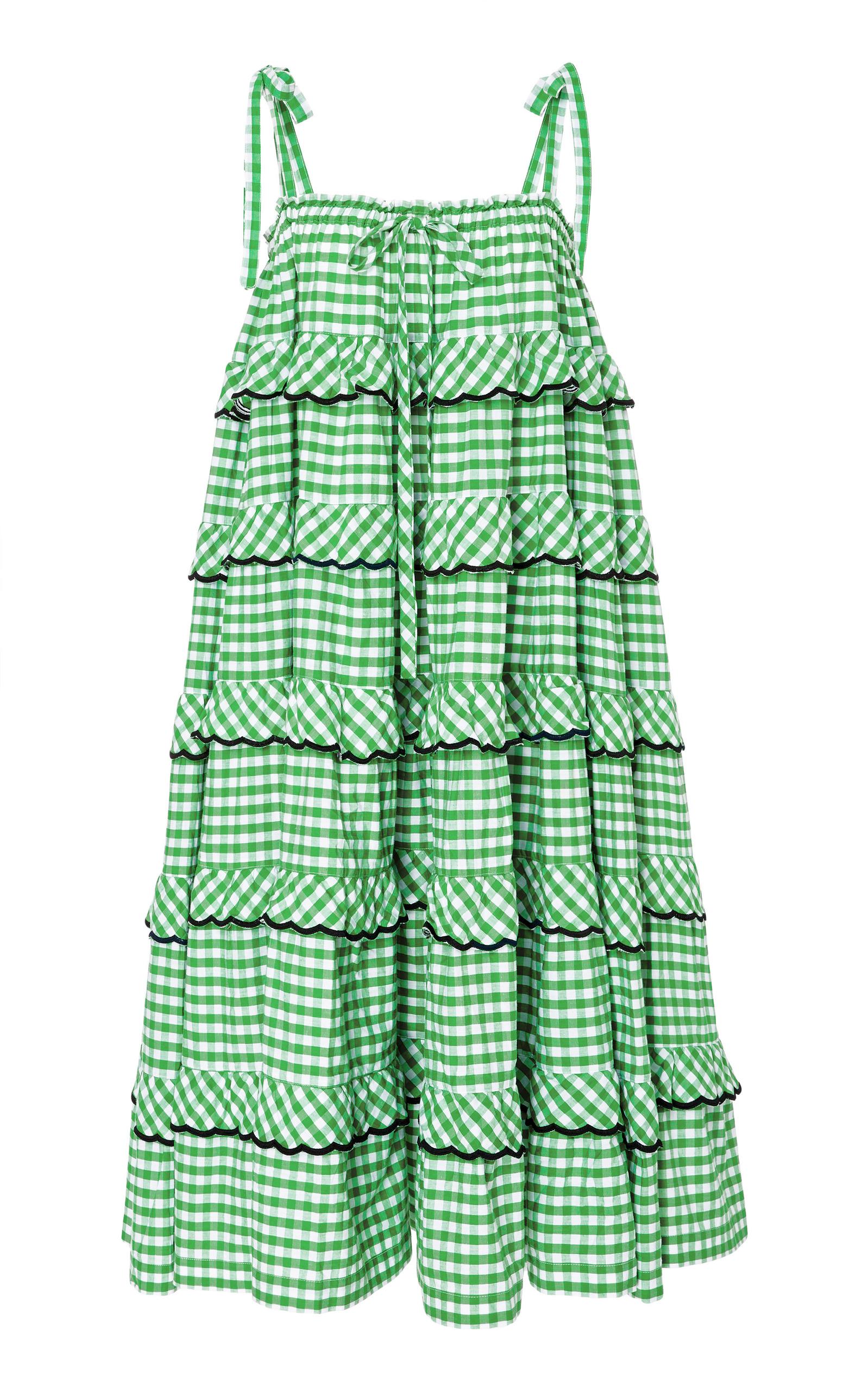 Boutique En Ligne De La France Tiered Cotton-Voile Mini SkirtInnika Choo Acheter Pas Cher Browse Meilleur Magasin Rabais Pour Obtenir Offres De Liquidation kkmlfHoJi