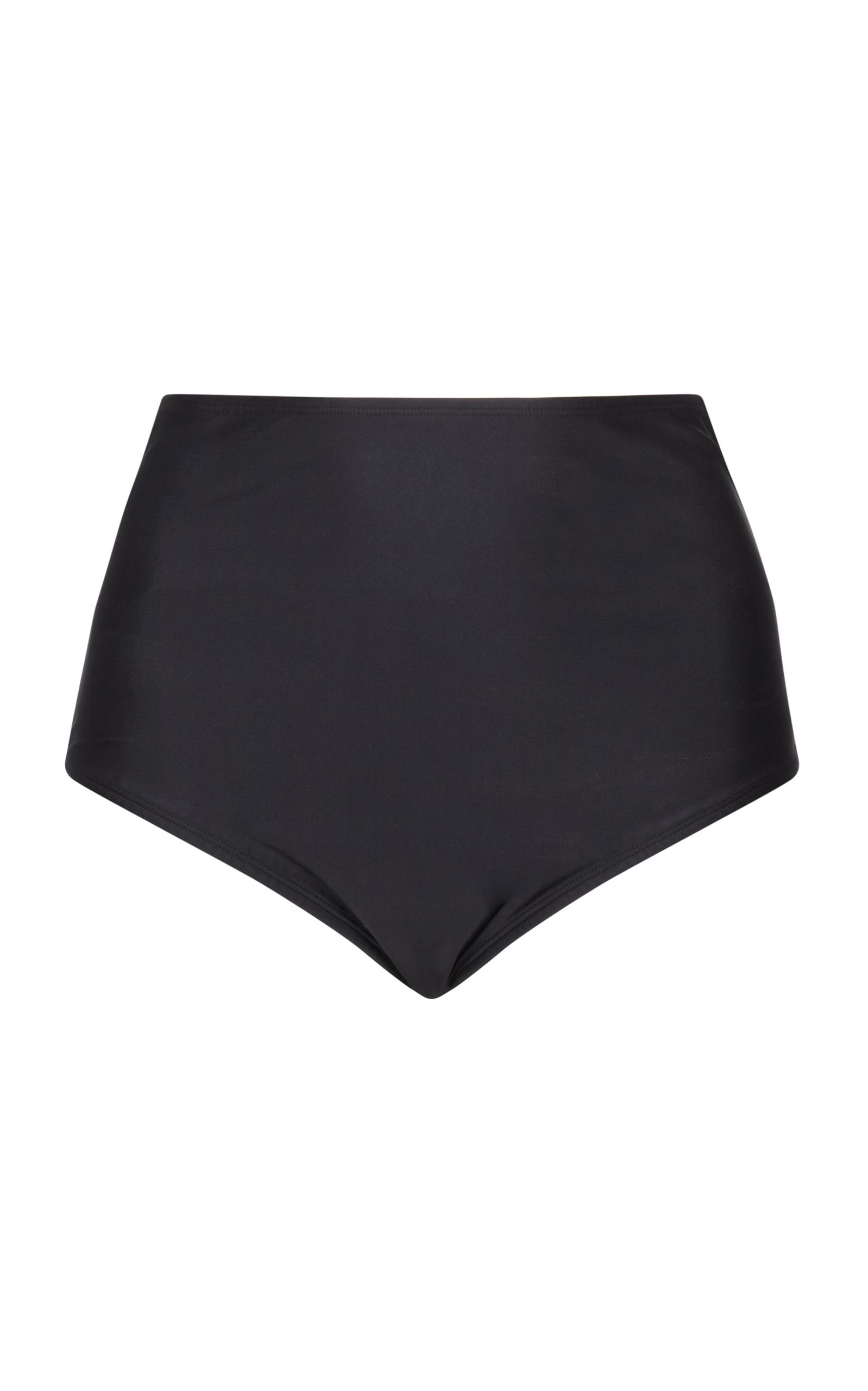 38cf26a5ad Paper London Fiji High Waist Bikini Bottom In Black
