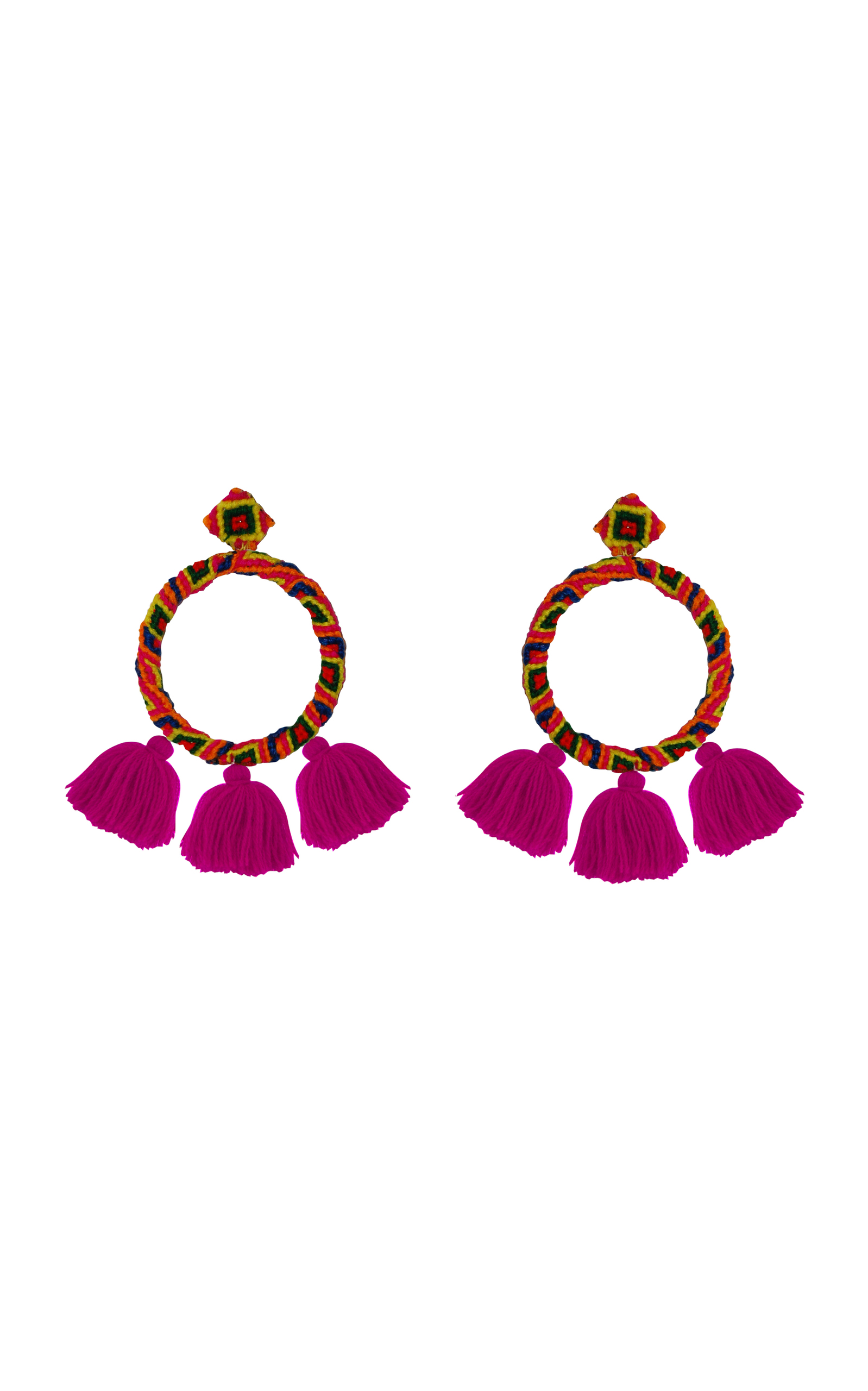 Sandra Earrings in Pink All Things Mochi