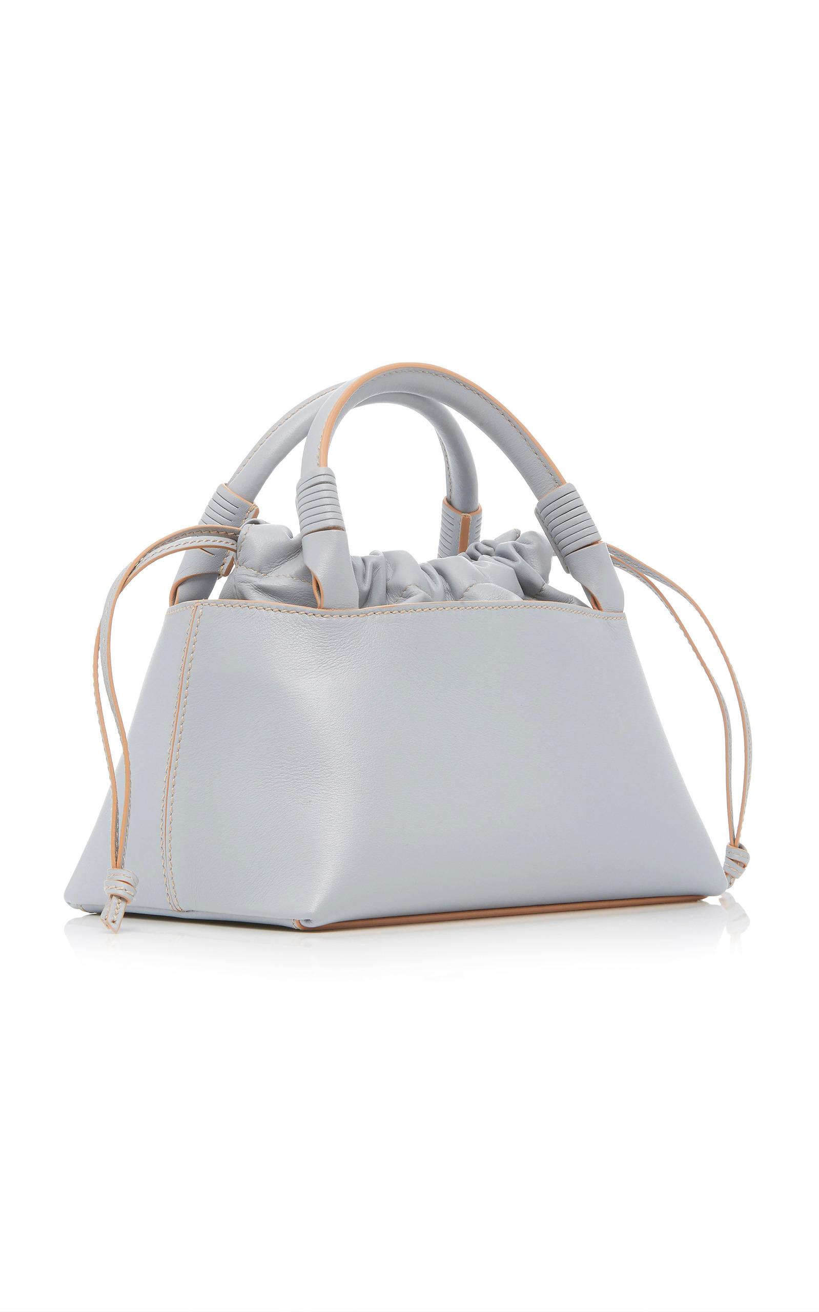 Carolina Santo Domingo Sirena Leather Bag 0S7OV