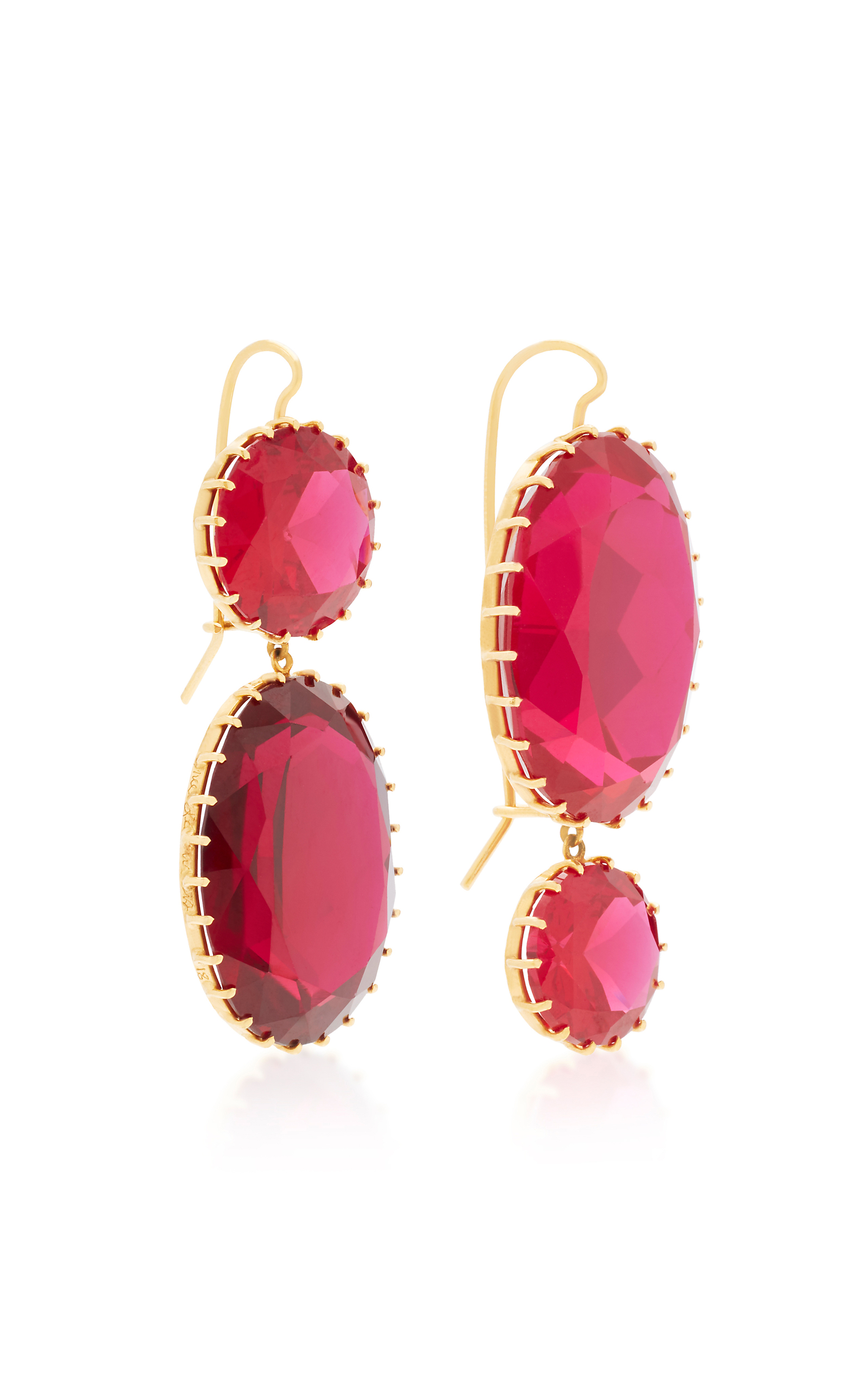 jewellery ruby with diamonds gold and ct in itm silver sterling earrings natural
