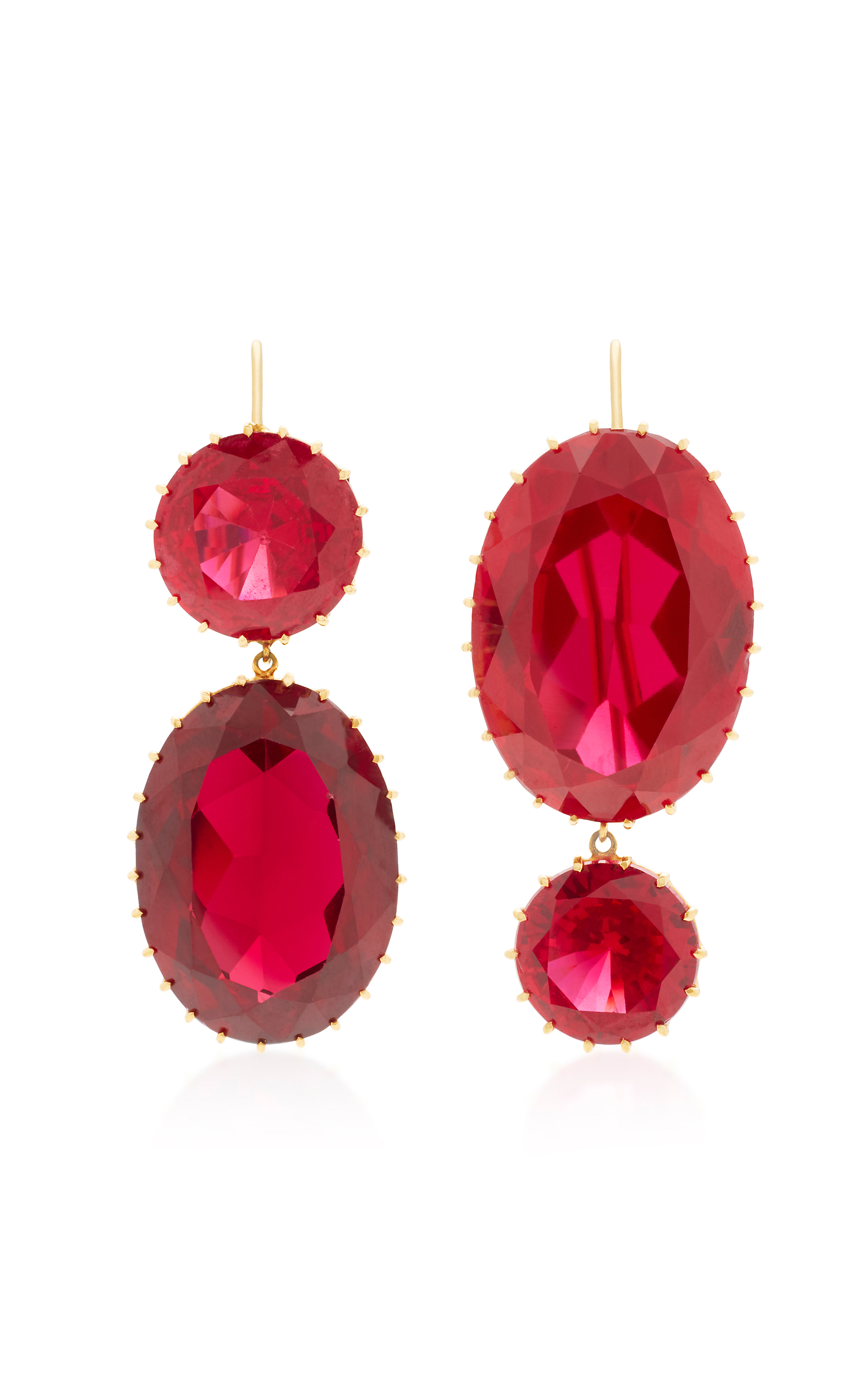 diamond wg earrings carat dangle catalog chandelier ruby jewellery