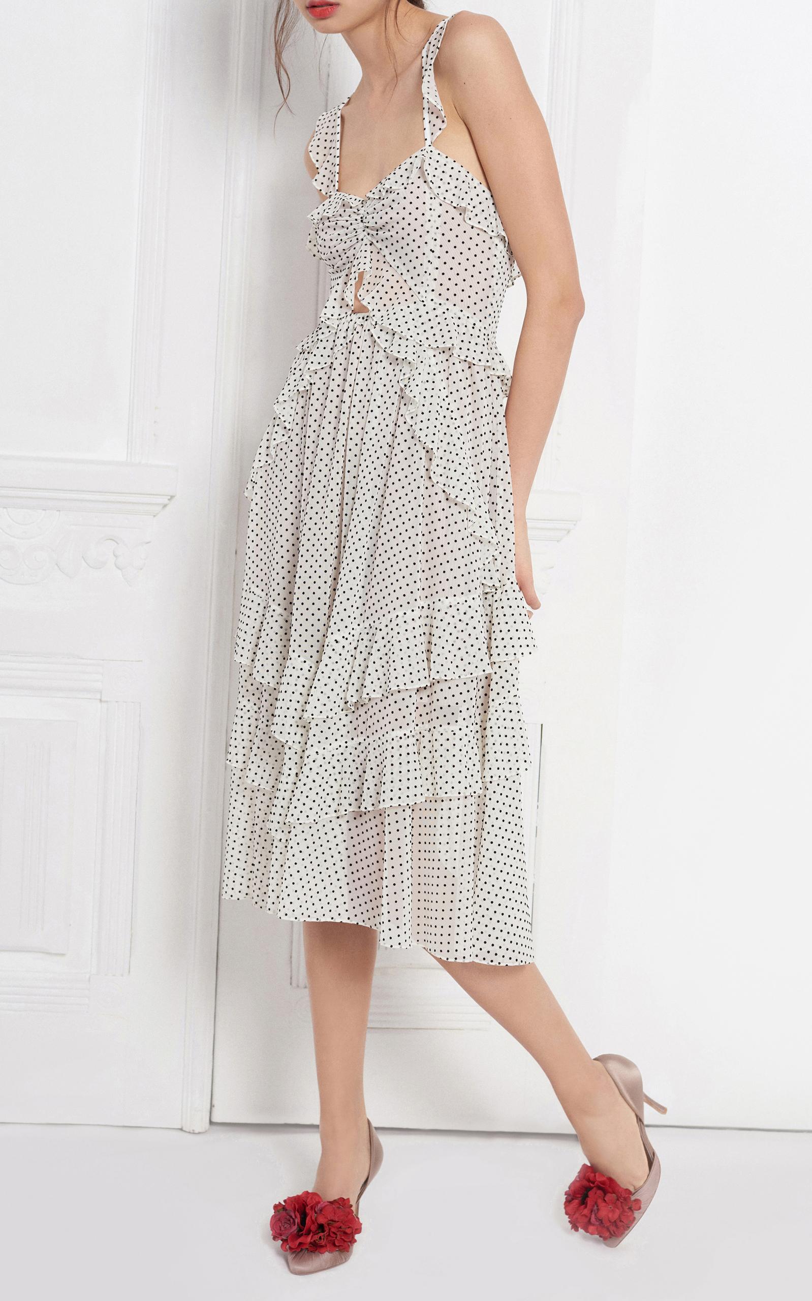c691aed463 Marissa WebbKenzie Ruffle Midi Dress. CLOSE. Loading. Loading. Loading