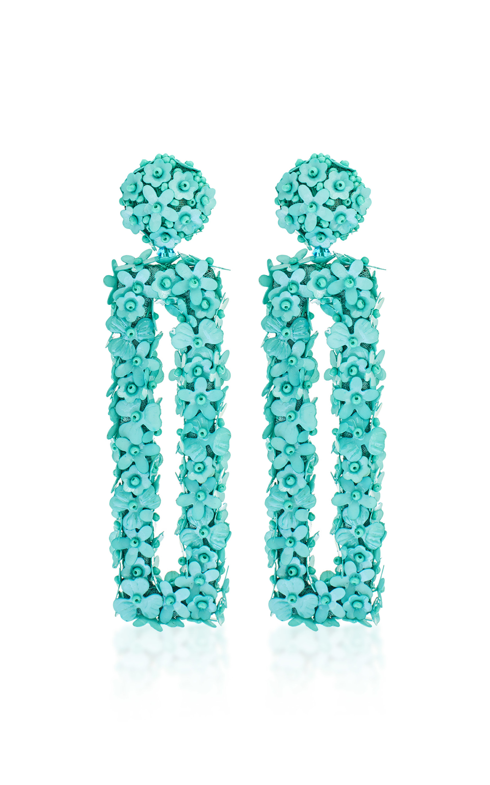 Fleur Dawn earrings - Green Sachin & Babi CeuOrXSz