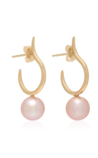 14K Rose Gold Earrings White/Space 78xYk2cFx1