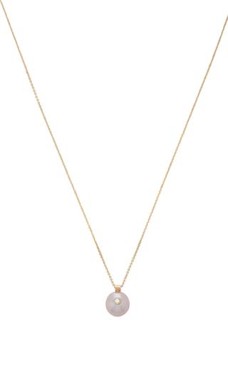 Everly 14k Oro Y Collar De Perlas Blancas / Espacio KwrTqZyy