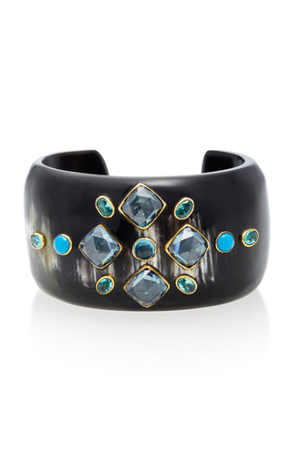 Upendo Corne Et Bracelet Multi-pierre Ashley Pittman k4GUnnd