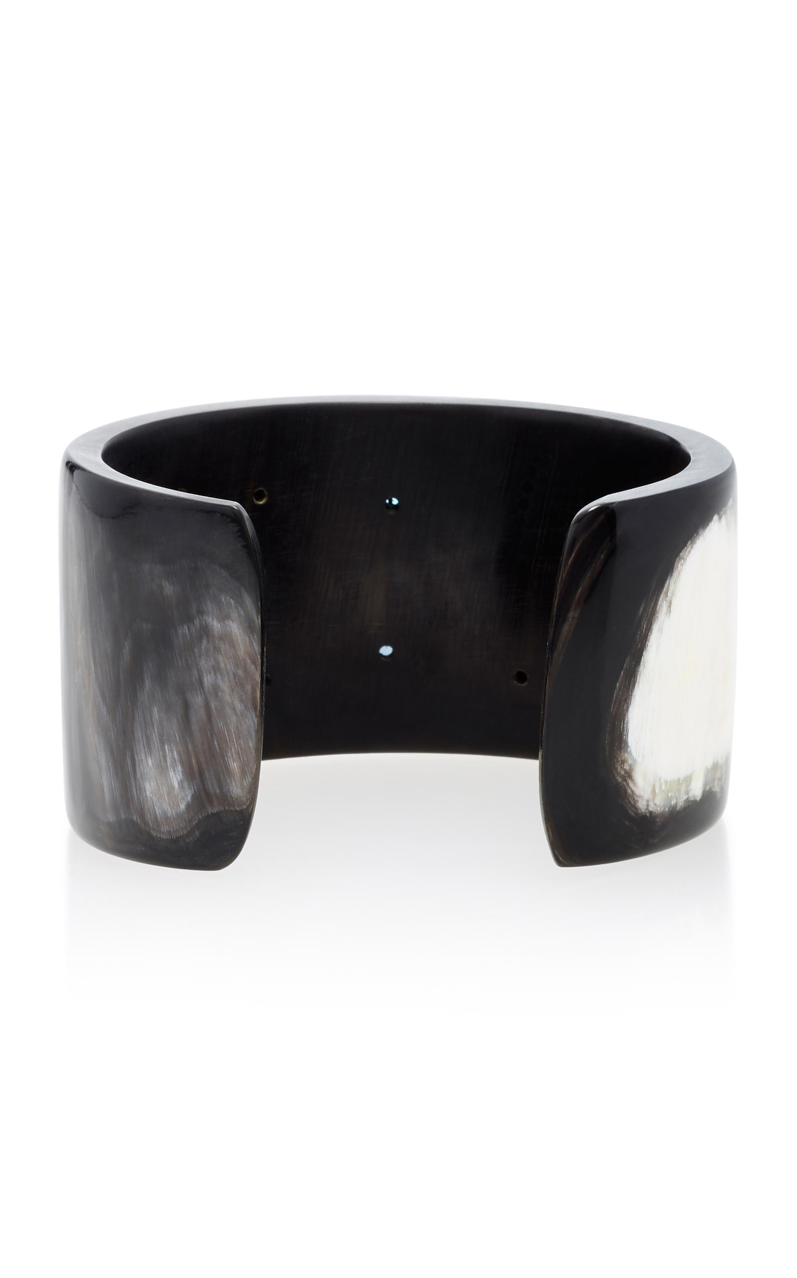 Ufalme Dark Horn and Multi-Stone Cuff Ashley Pittman nRKWGtq