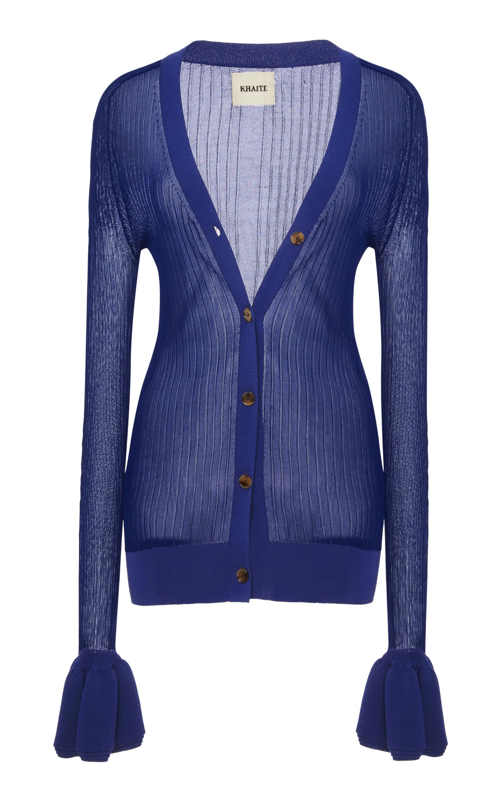 Eloise Sheer Cardigan by Khaite | Moda Operandi
