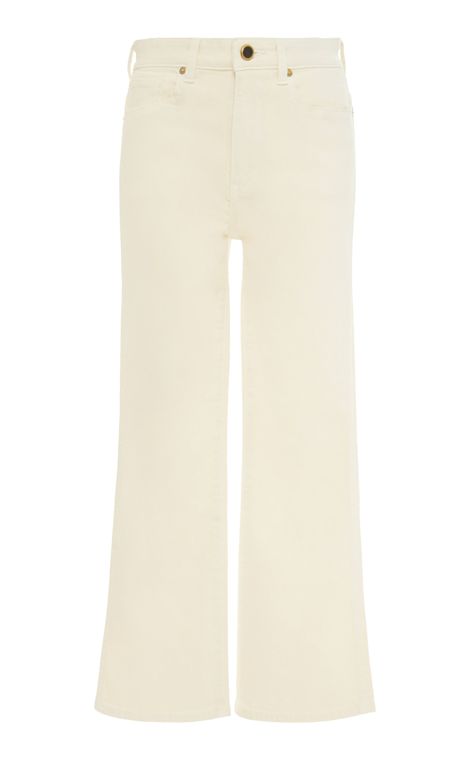 BENNY MID-RISE CROP FLARE JEANS