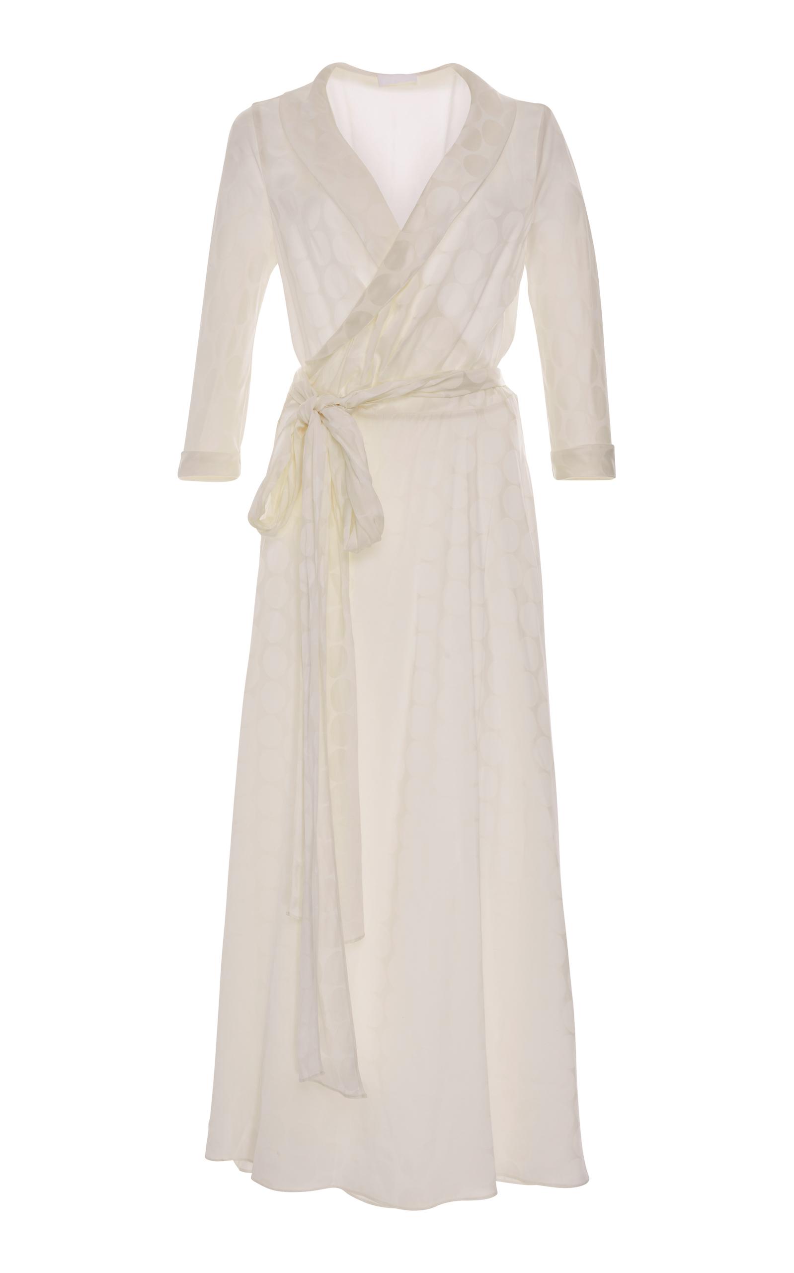 White Wrap Gown – Fashion design images