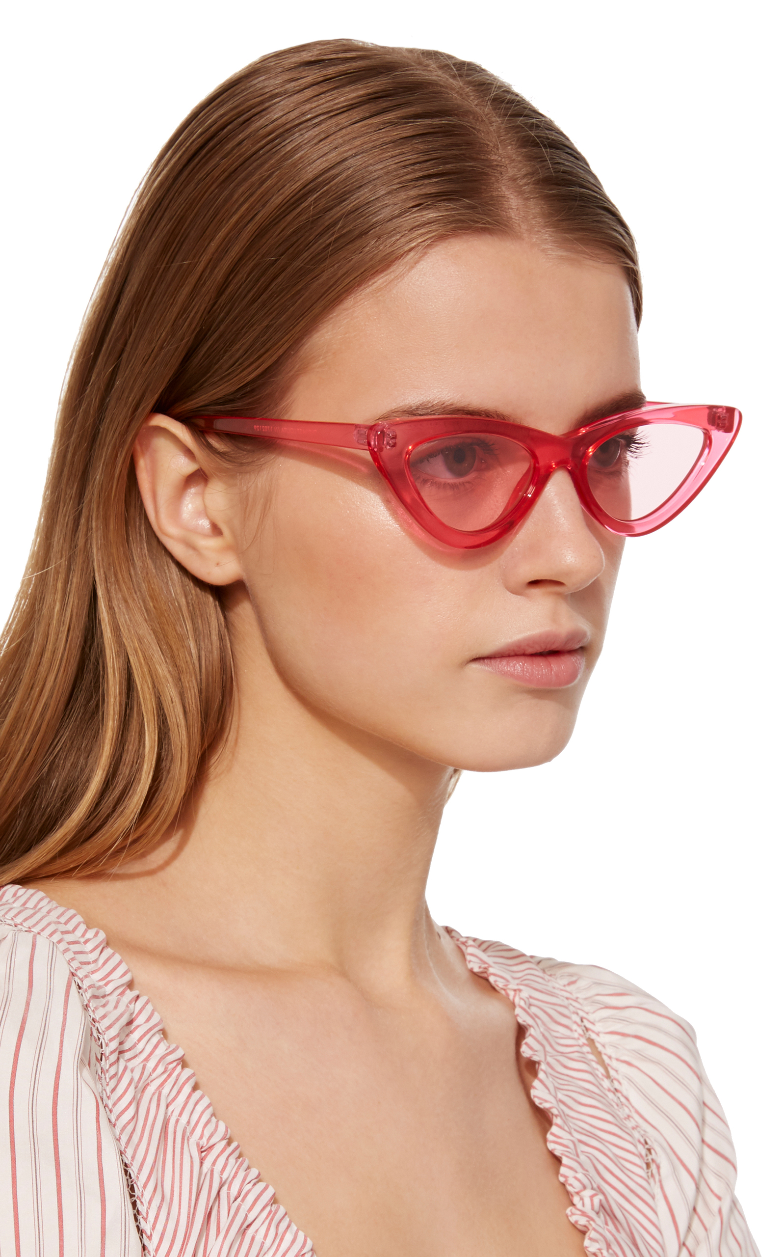 The Last Lolita Cat-Eye Sunglasses by Adam Selman X Le  4f5da52385b70