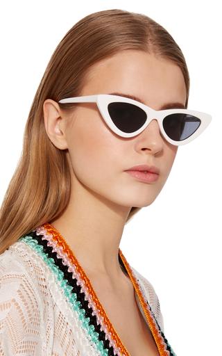 317798da9c0 Northern Lights Tortoiseshell Acetate Cat-Eye Sunglasses by Karen ...