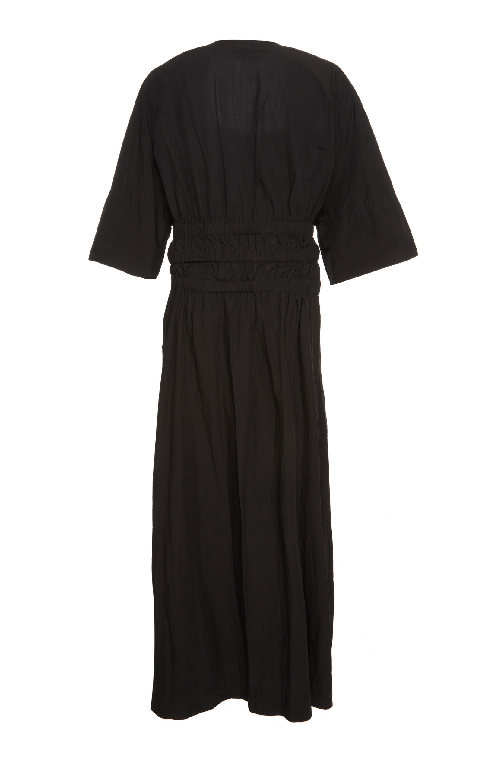 6c83852709e Airy Poplin Cotton Maxi Dress by Tomas Maier