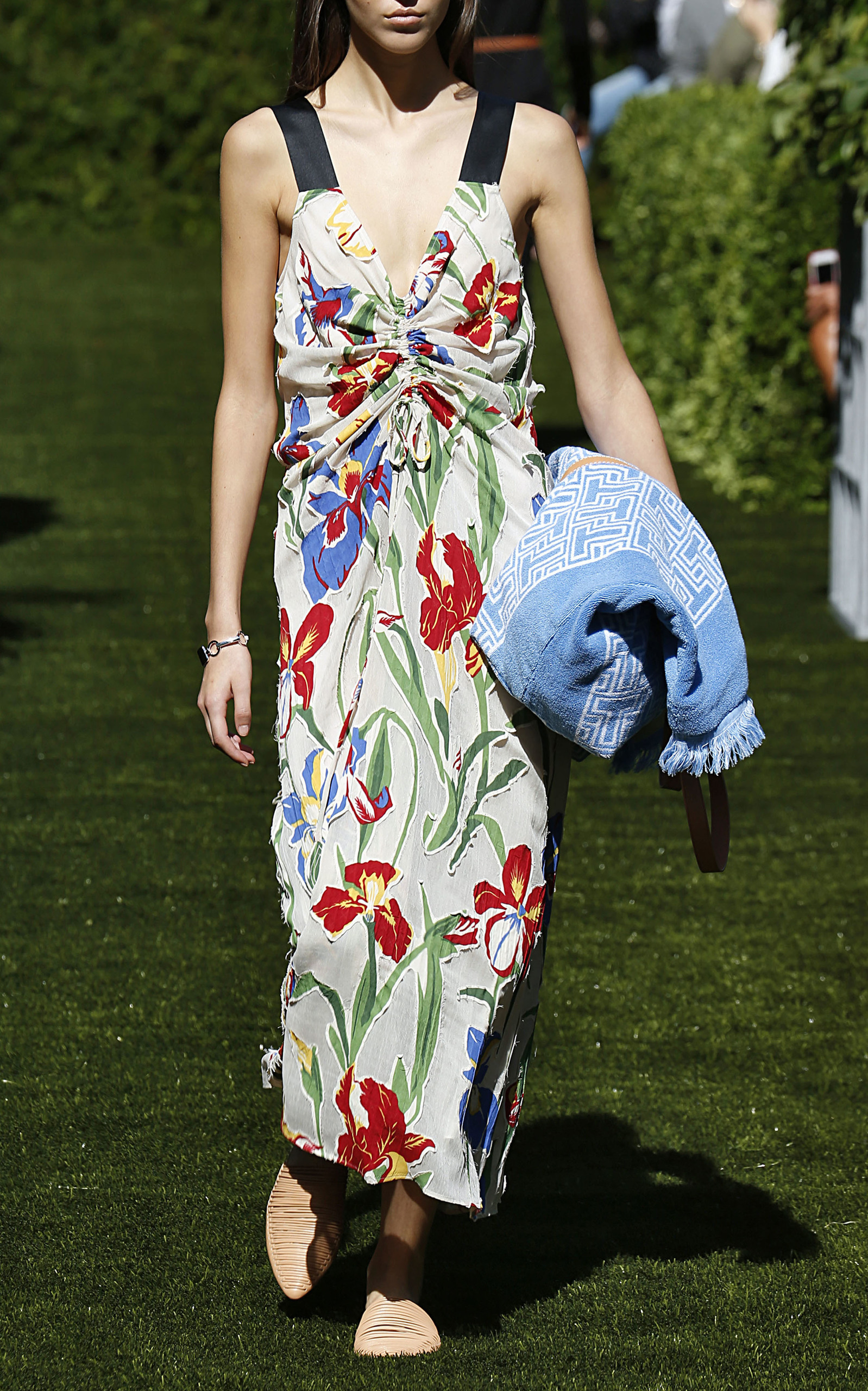 89440121e9 Clarissa Floral Dress by Tory Burch | Moda Operandi